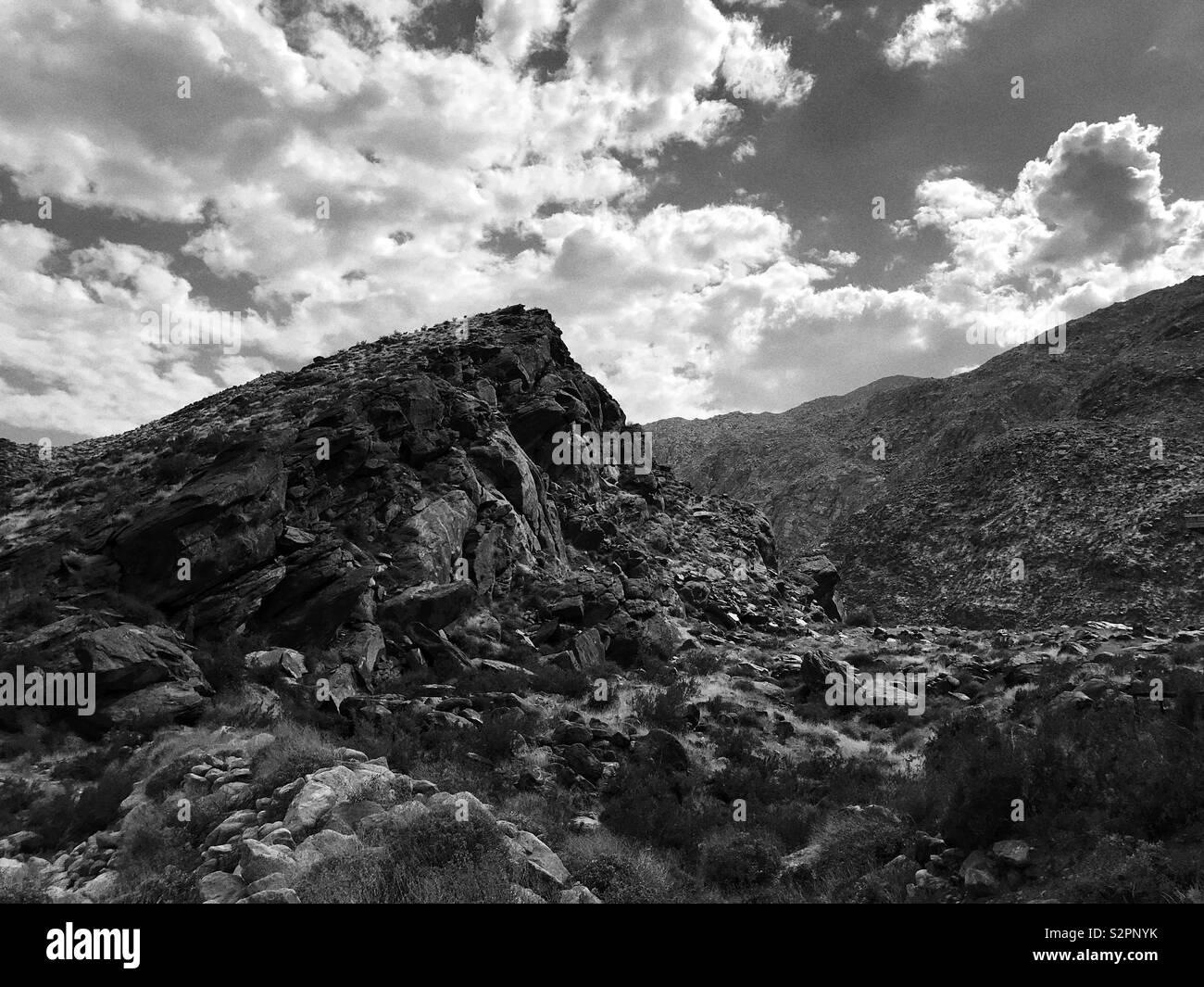 Dramatique Landscape - Stock Image