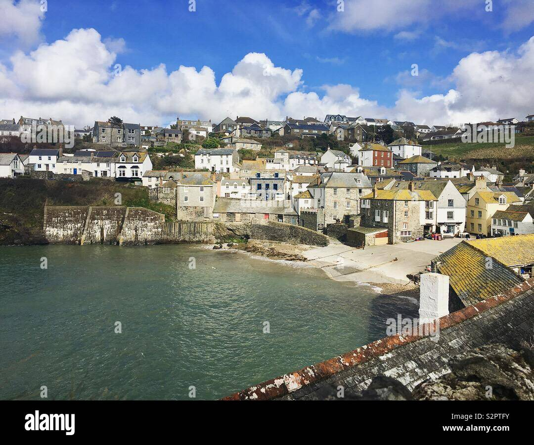 Port Isaac, Cornwall - Stock Image