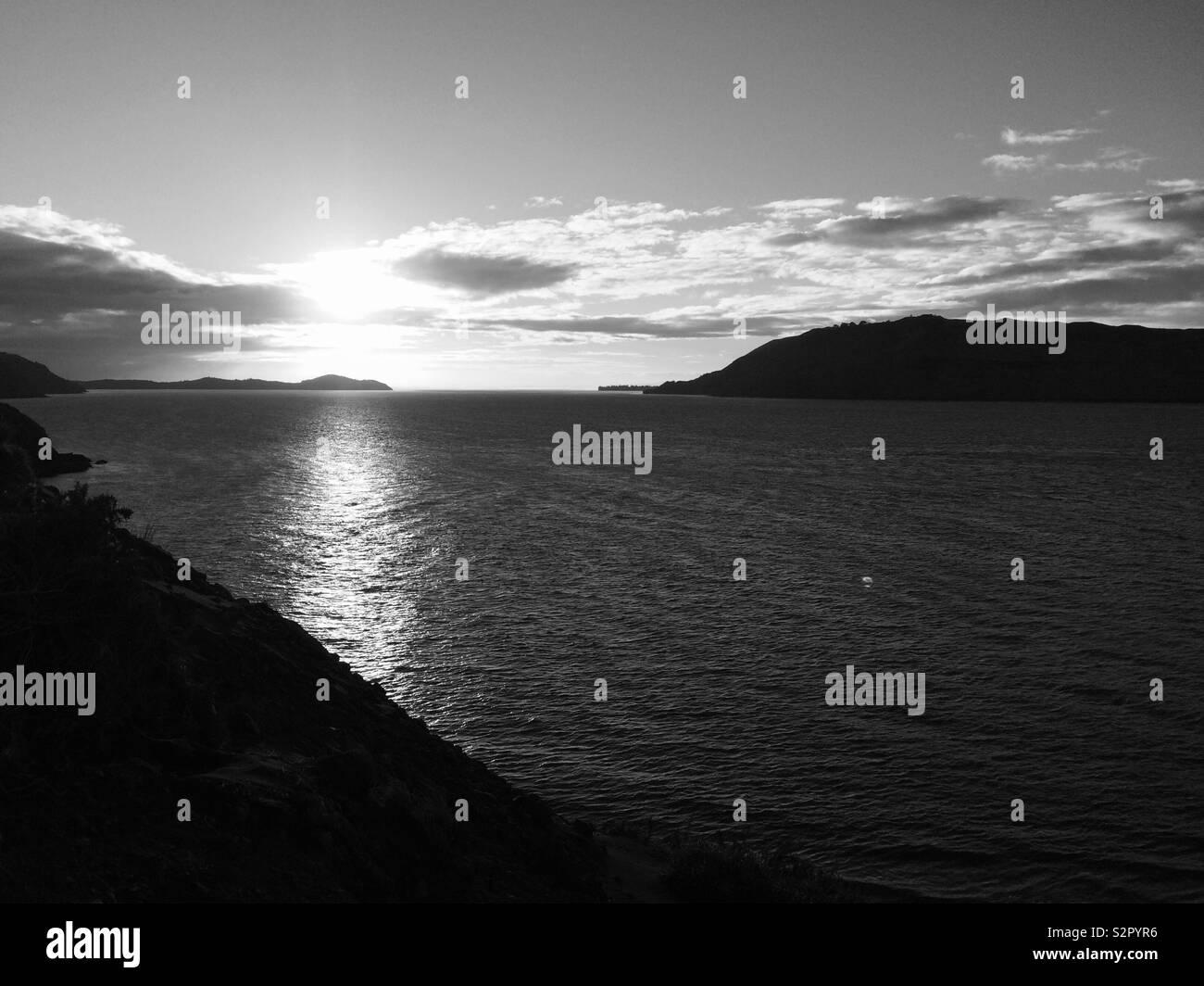 New Zealand coast - Stock Image