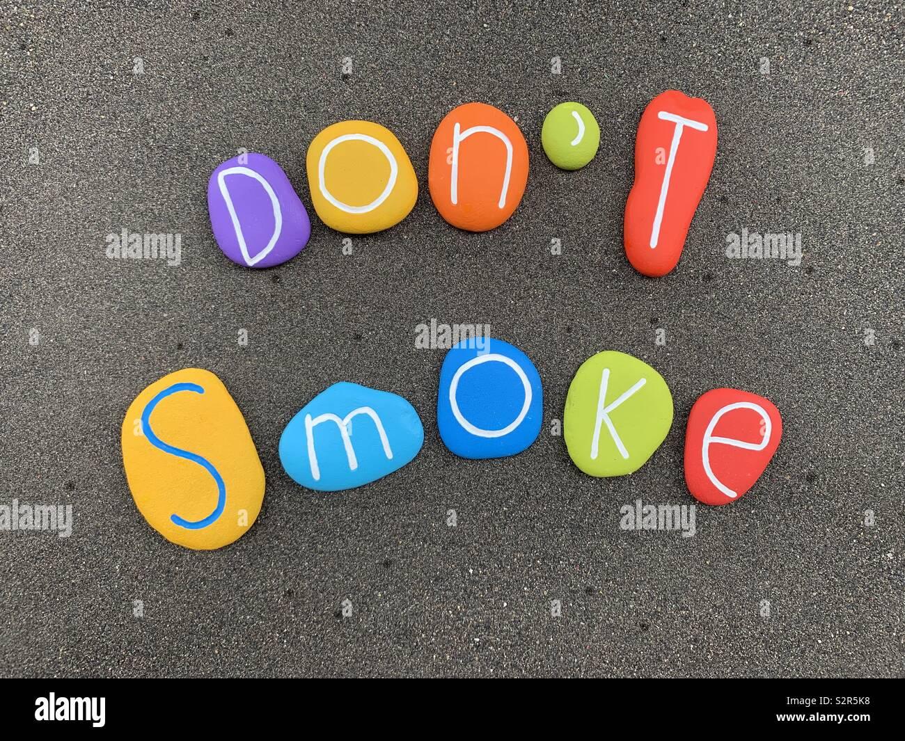 Don't smoke - Stock Image