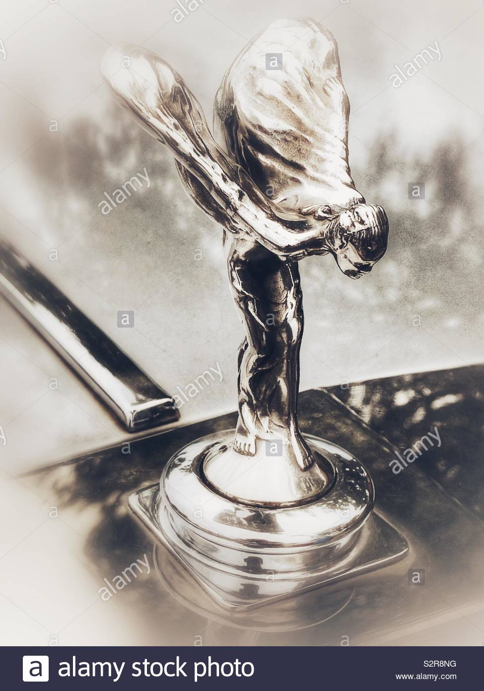 Classica ROLLS-ROYCE-FINE ART PRINT-Silver Shadow Cloud Wraith Spirito immagini