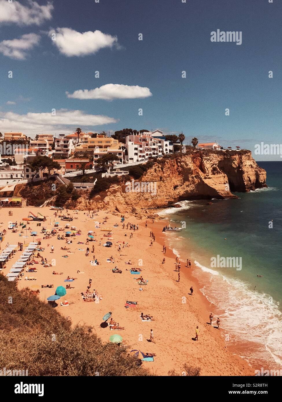 Carvoeiro, Portugal Stock Photo