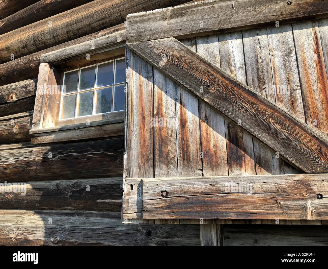 Heritage Barn At The Historic Fur Trading Post And