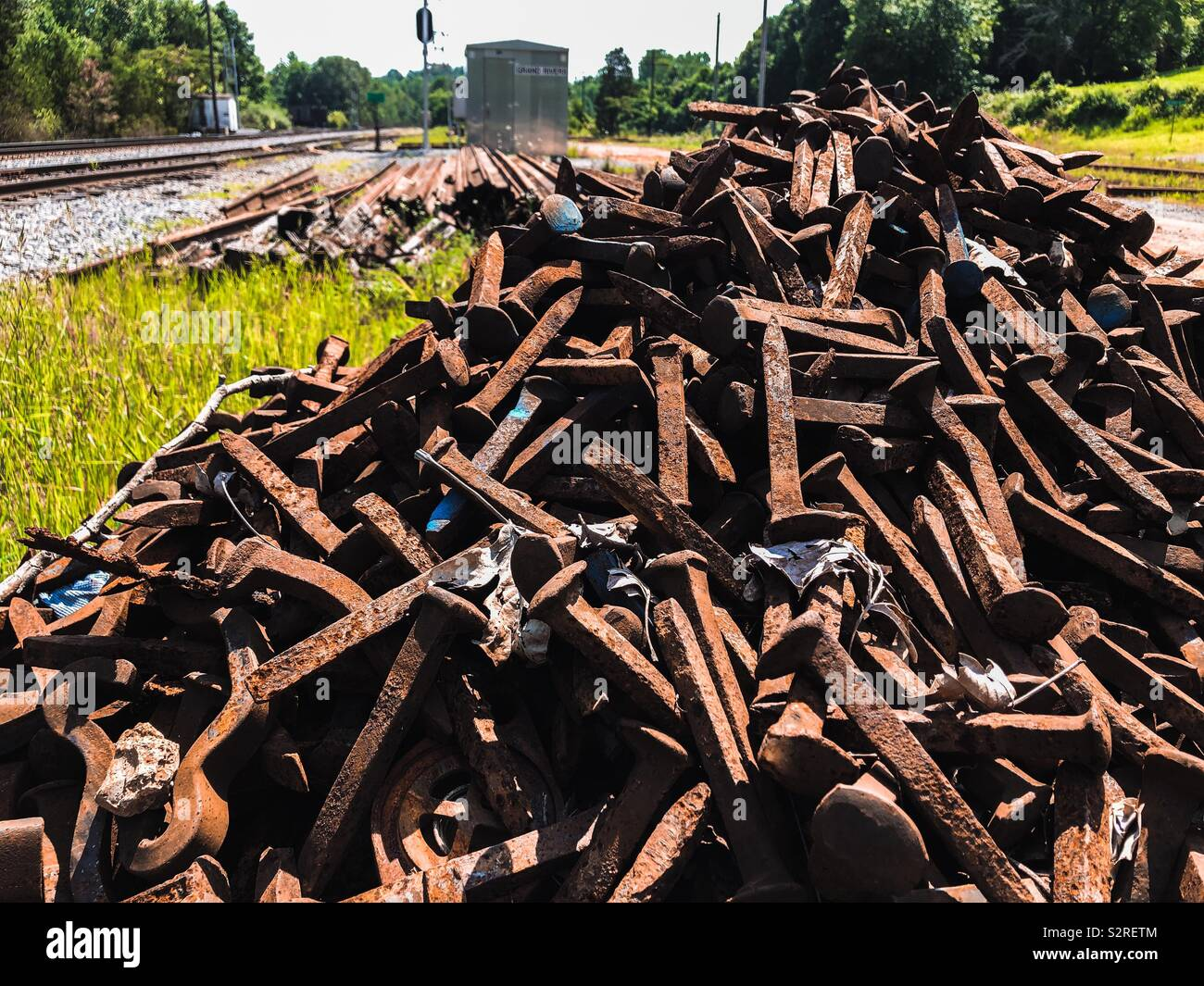 Iron Spikes Stock Photos & Iron Spikes Stock Images - Alamy