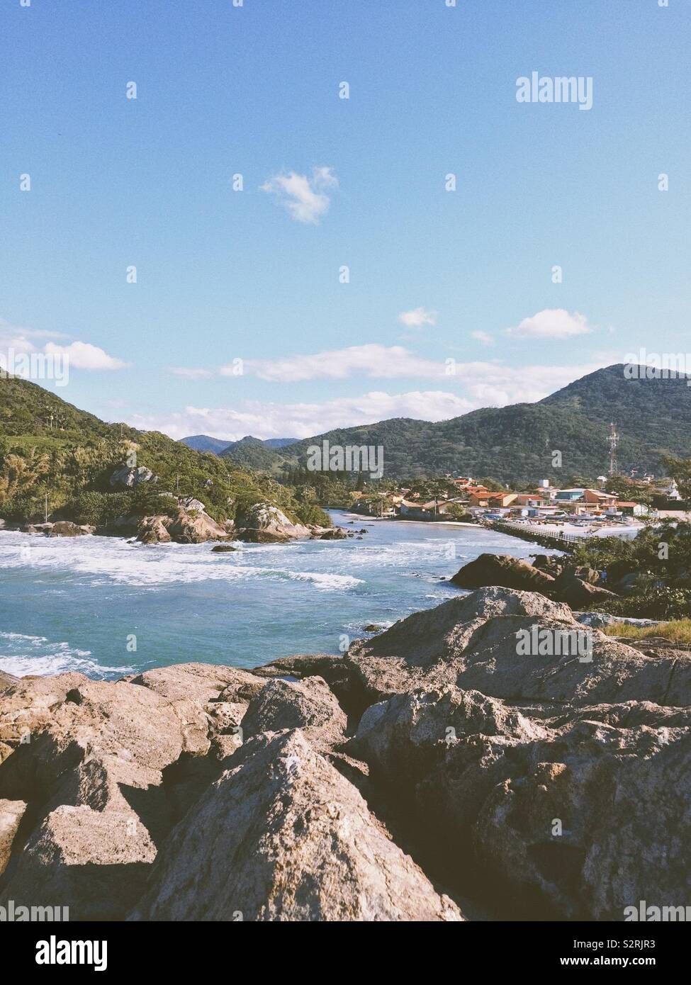Armação do Pântano do Sul, Florianópolis - Stock Image