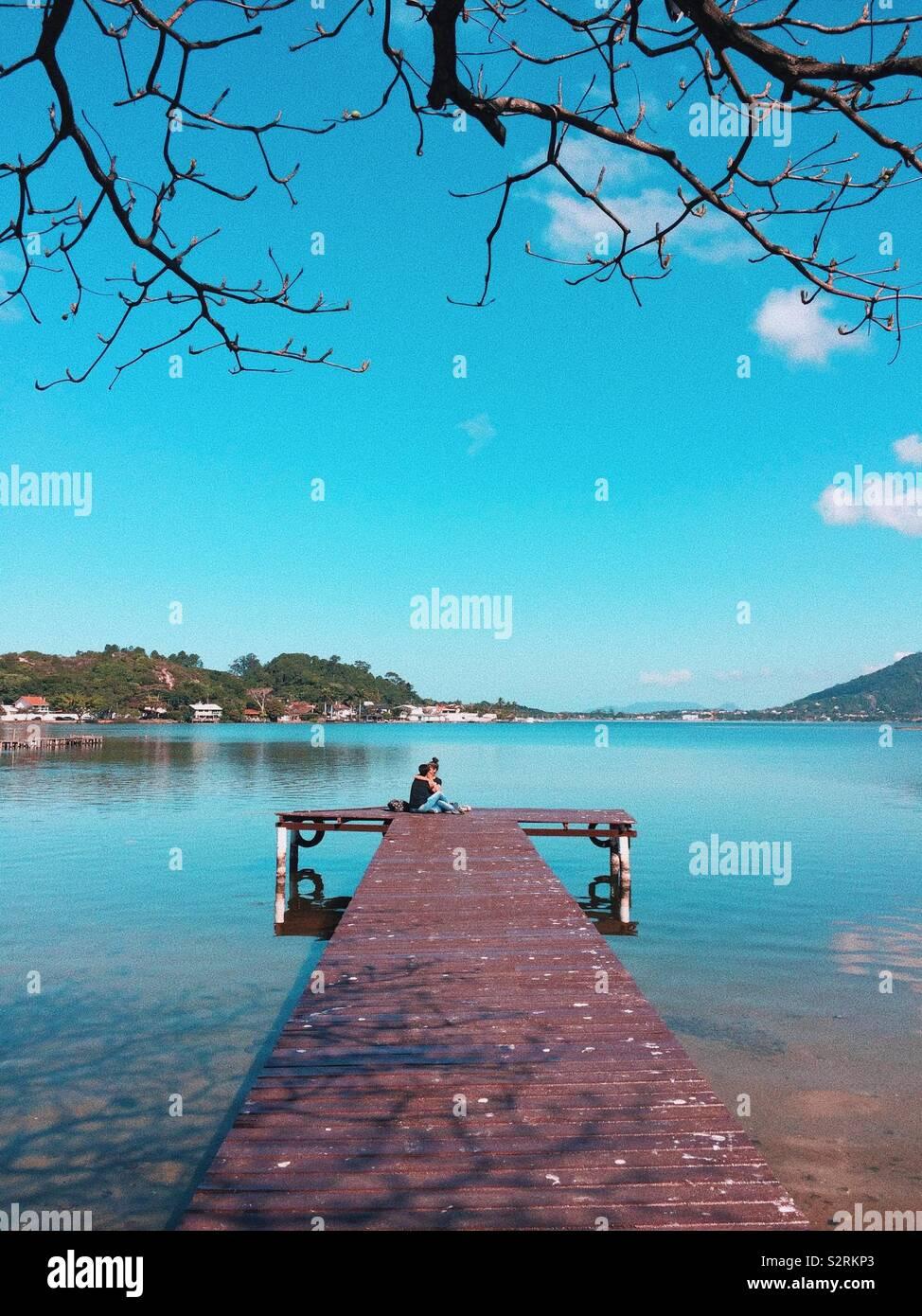 Lagoa da Conceição, Florianópolis - Stock Image