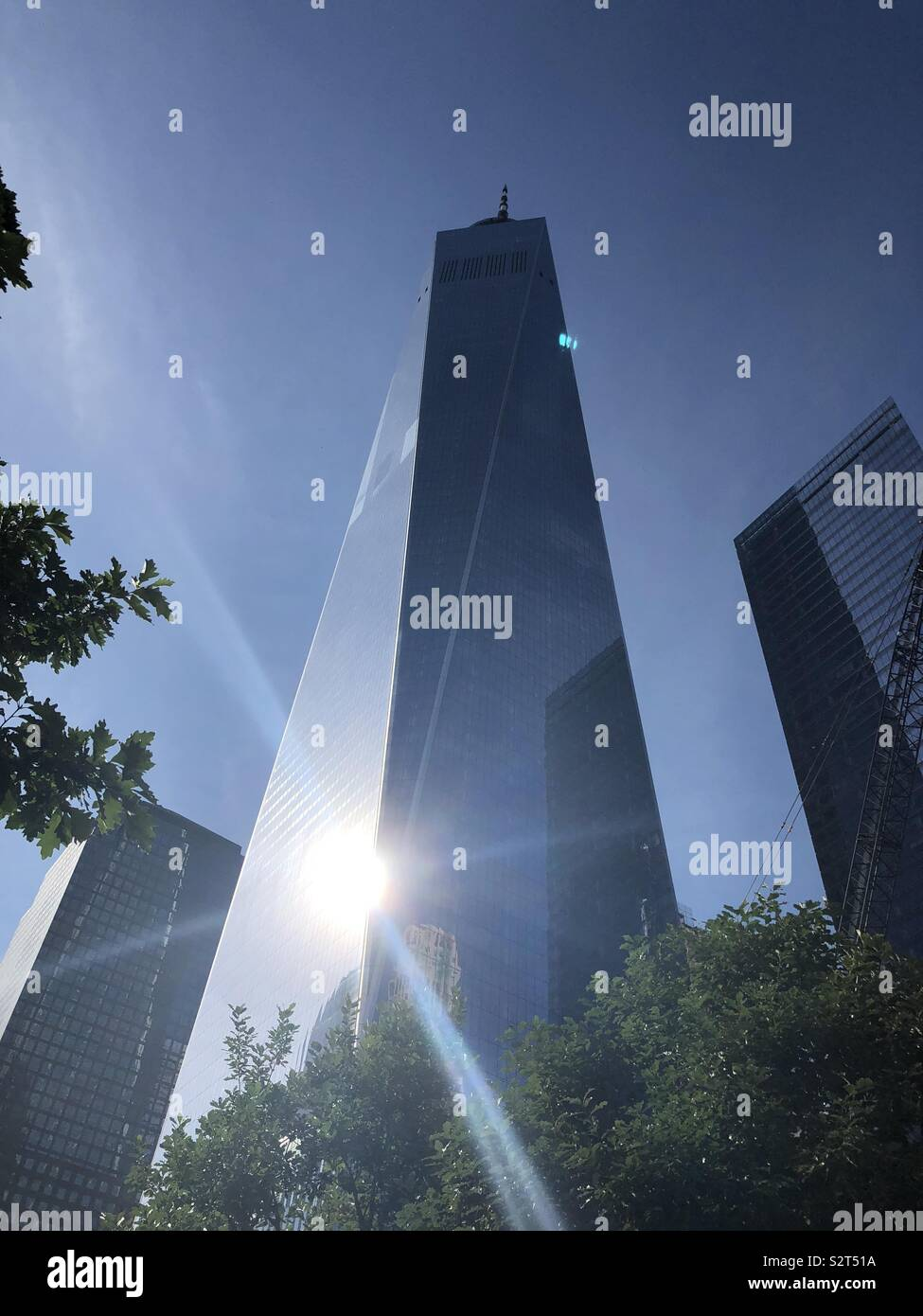 One World Trade Center New York City - Stock Image