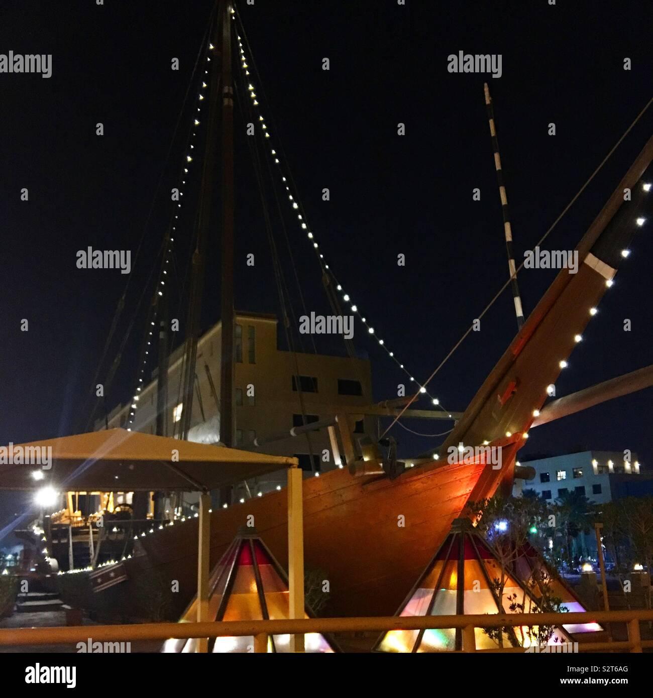 Boat life - Stock Image