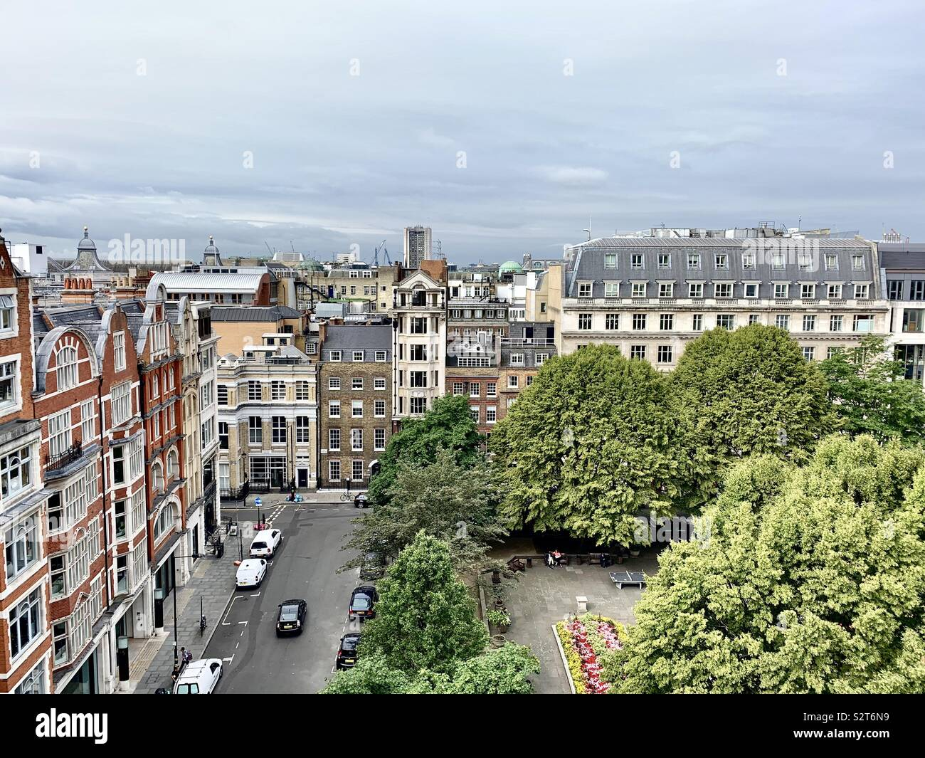 Green London - Stock Image