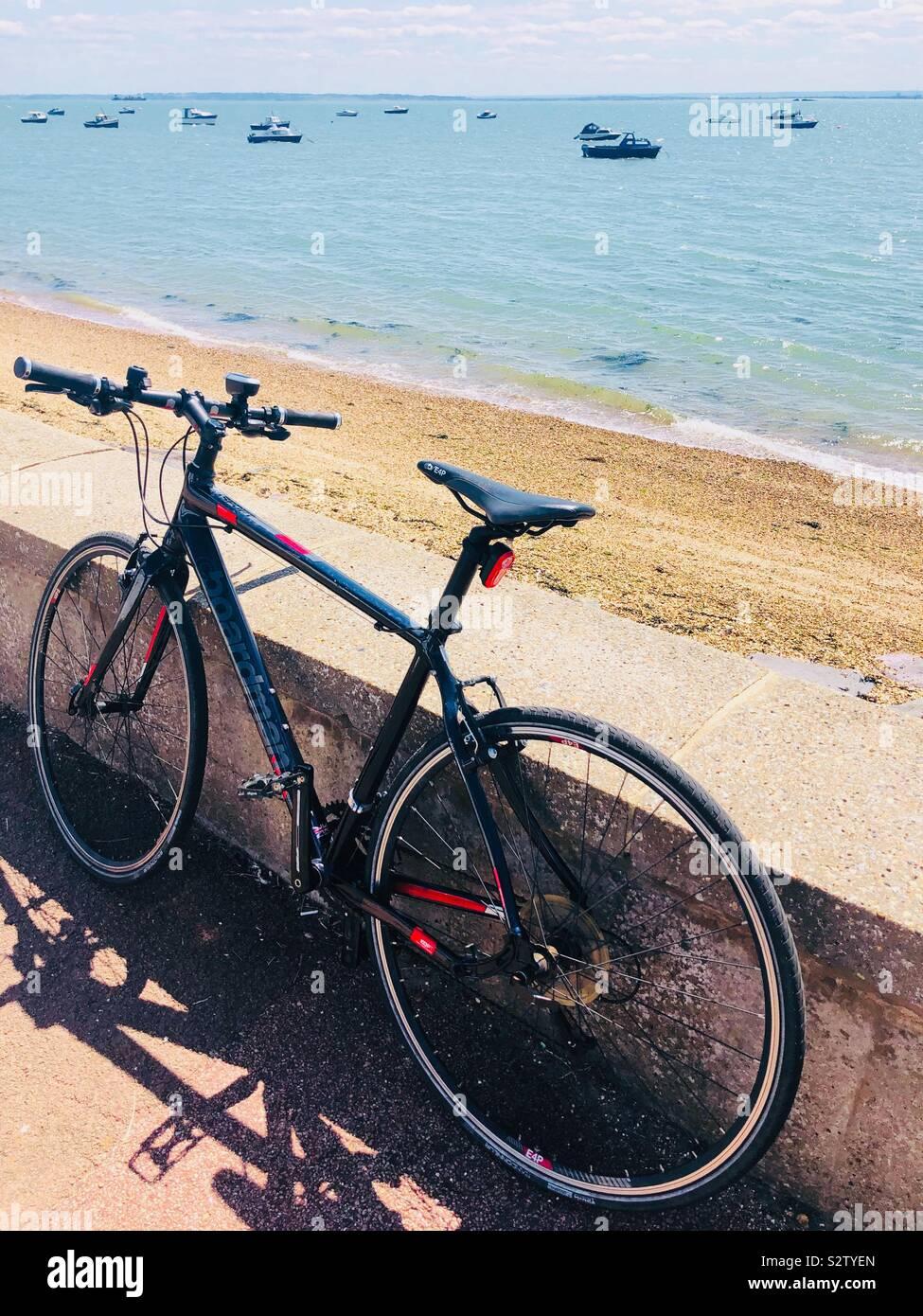 Cycle to Shoeburyness Stock Photo