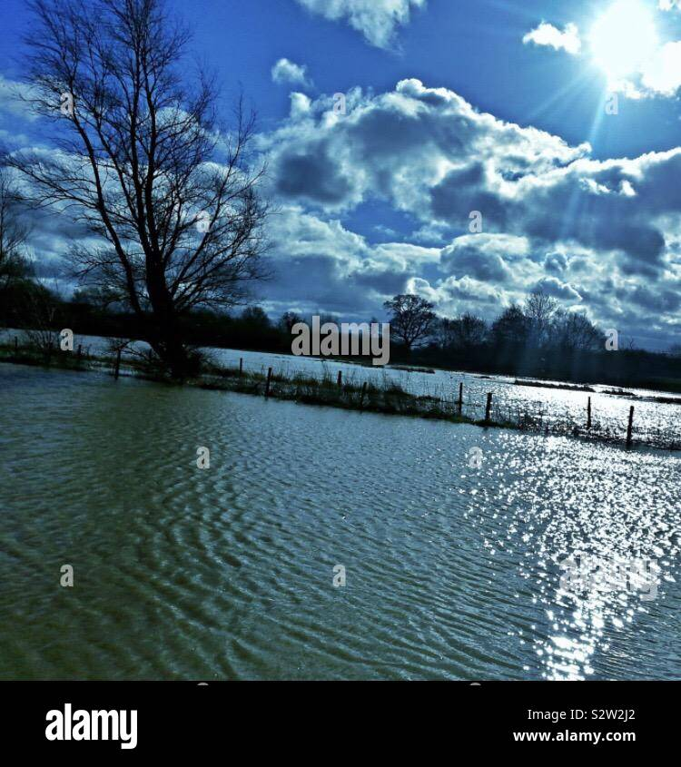 When the floods came Stock Photo