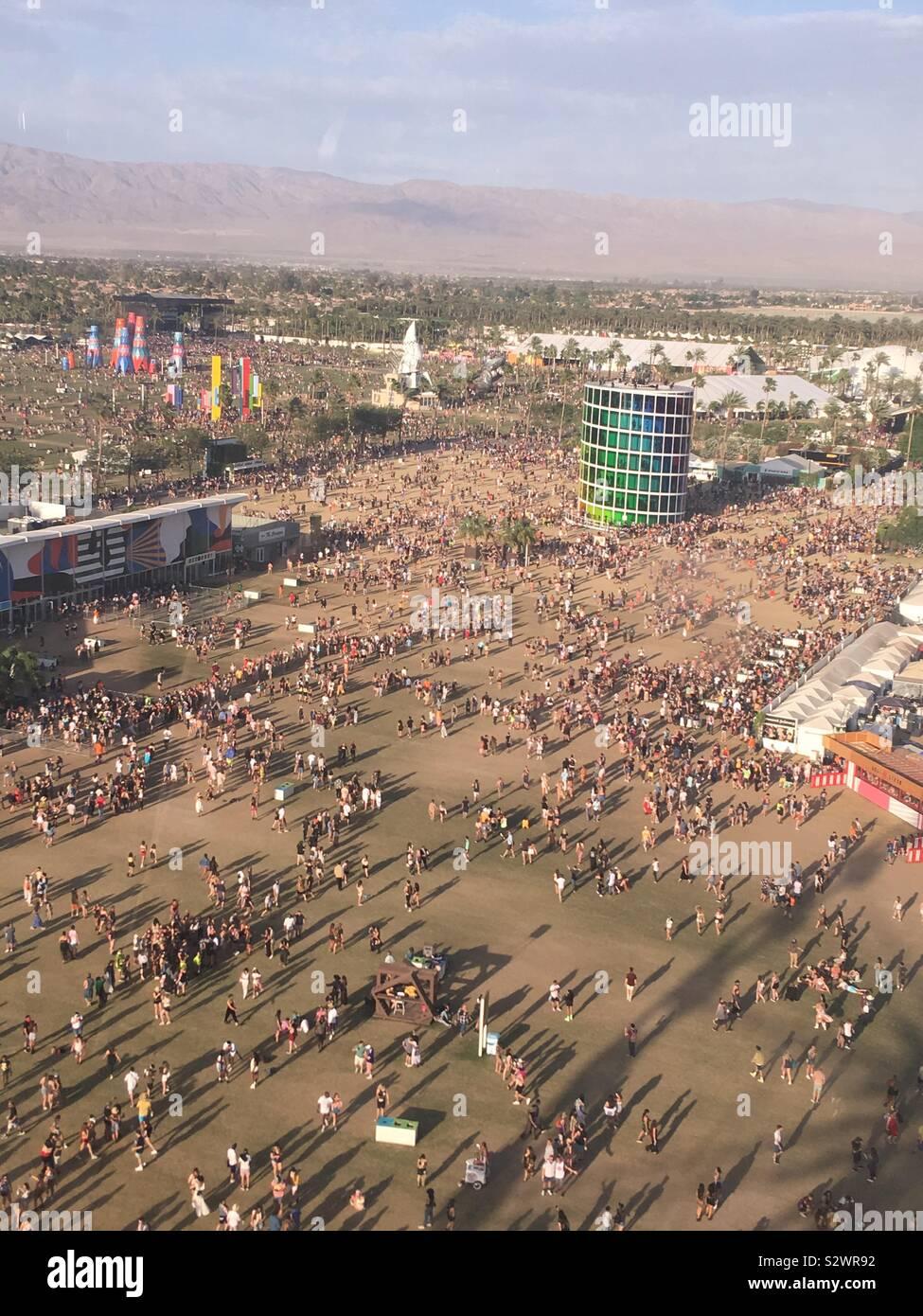 Coachella Music Festival Stock Photos & Coachella Music