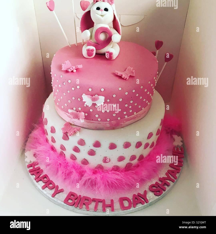Groovy Bunny Birthday Cake Stock Photo 311623476 Alamy Funny Birthday Cards Online Alyptdamsfinfo