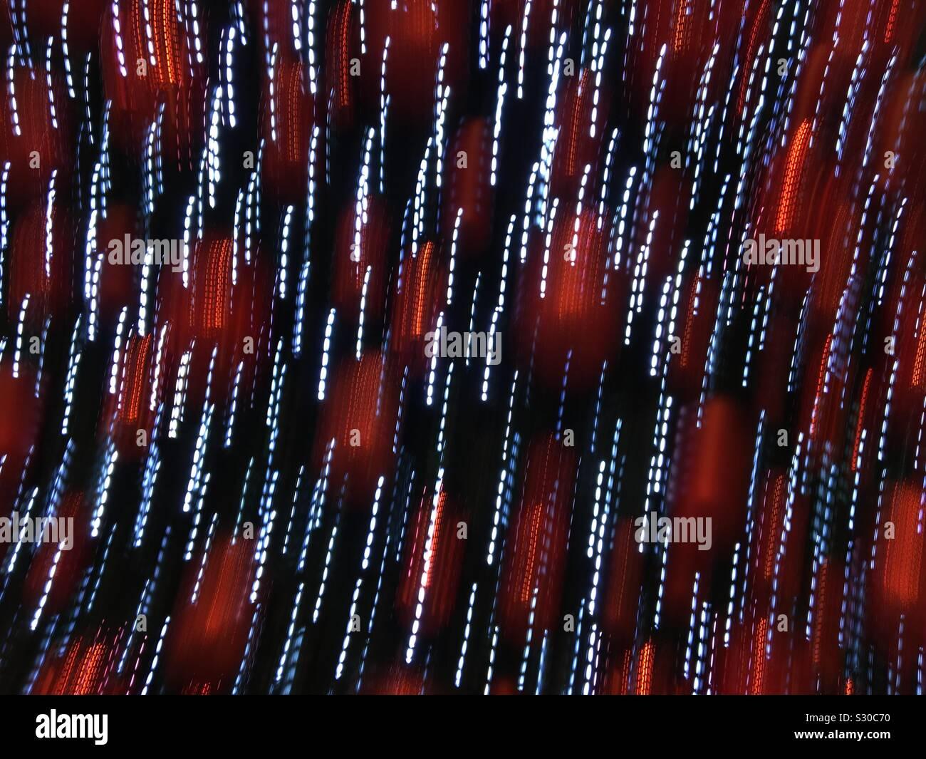 Xmas Motion Effect Wallpaper Made Of Xmas Decorative