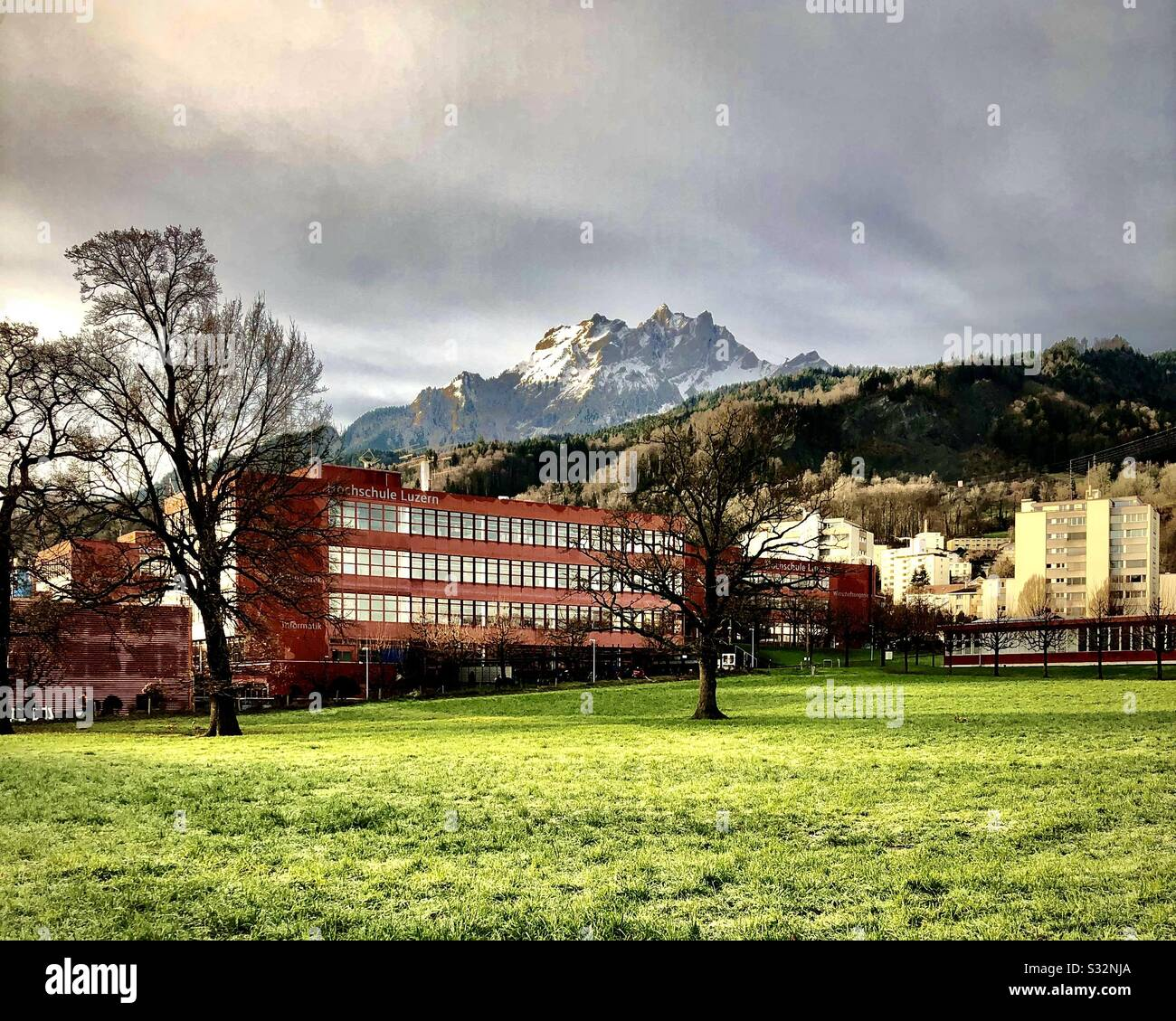 Lucerne University Of Applied Sciences And Arts Hslu Luzern University Campus In Switzerland Stock Photo Alamy