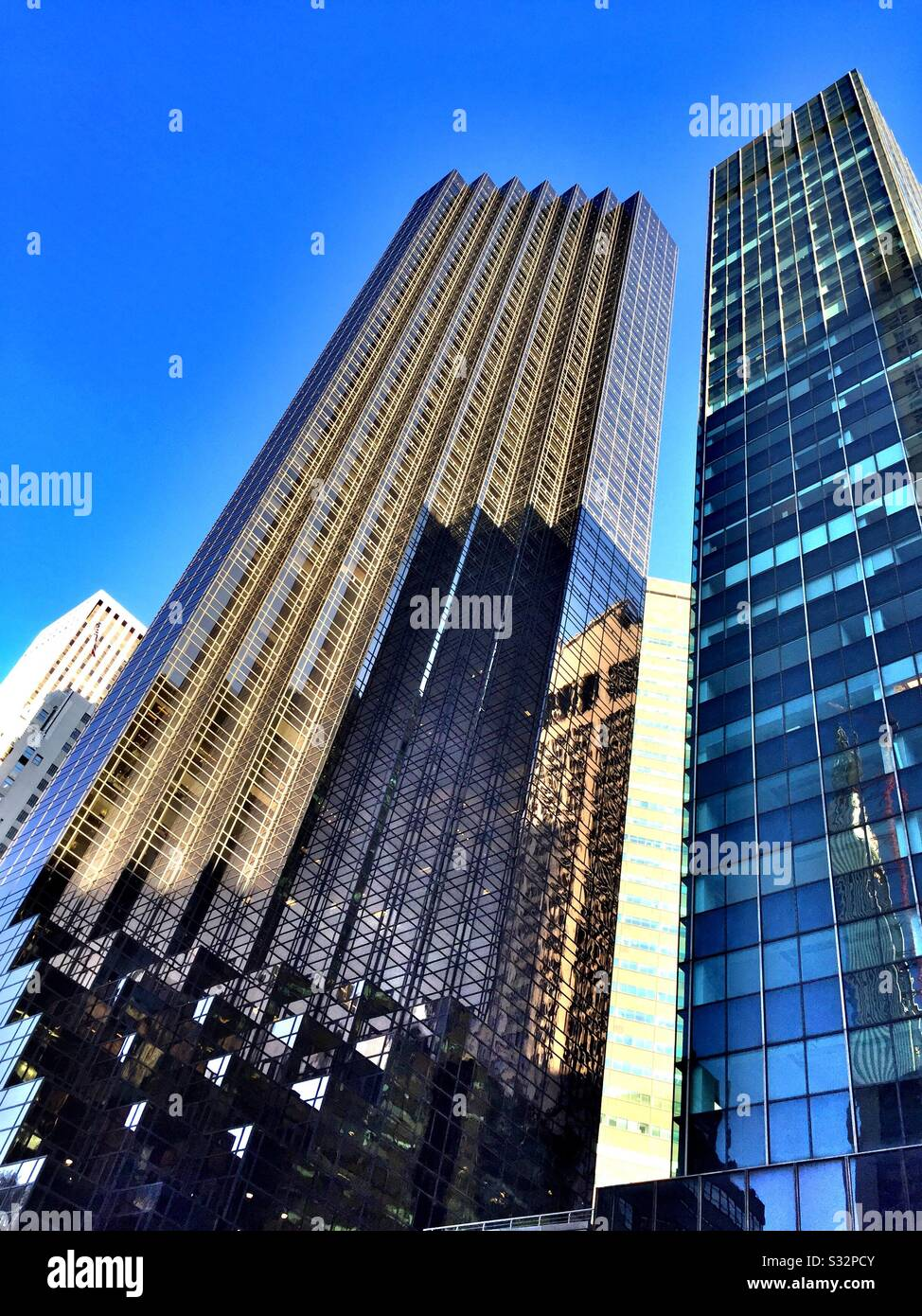 The Trump Tower And Olympic Tower Skyscrapers On 5th Ave Manhattan New York City Usa Stock Photo Alamy
