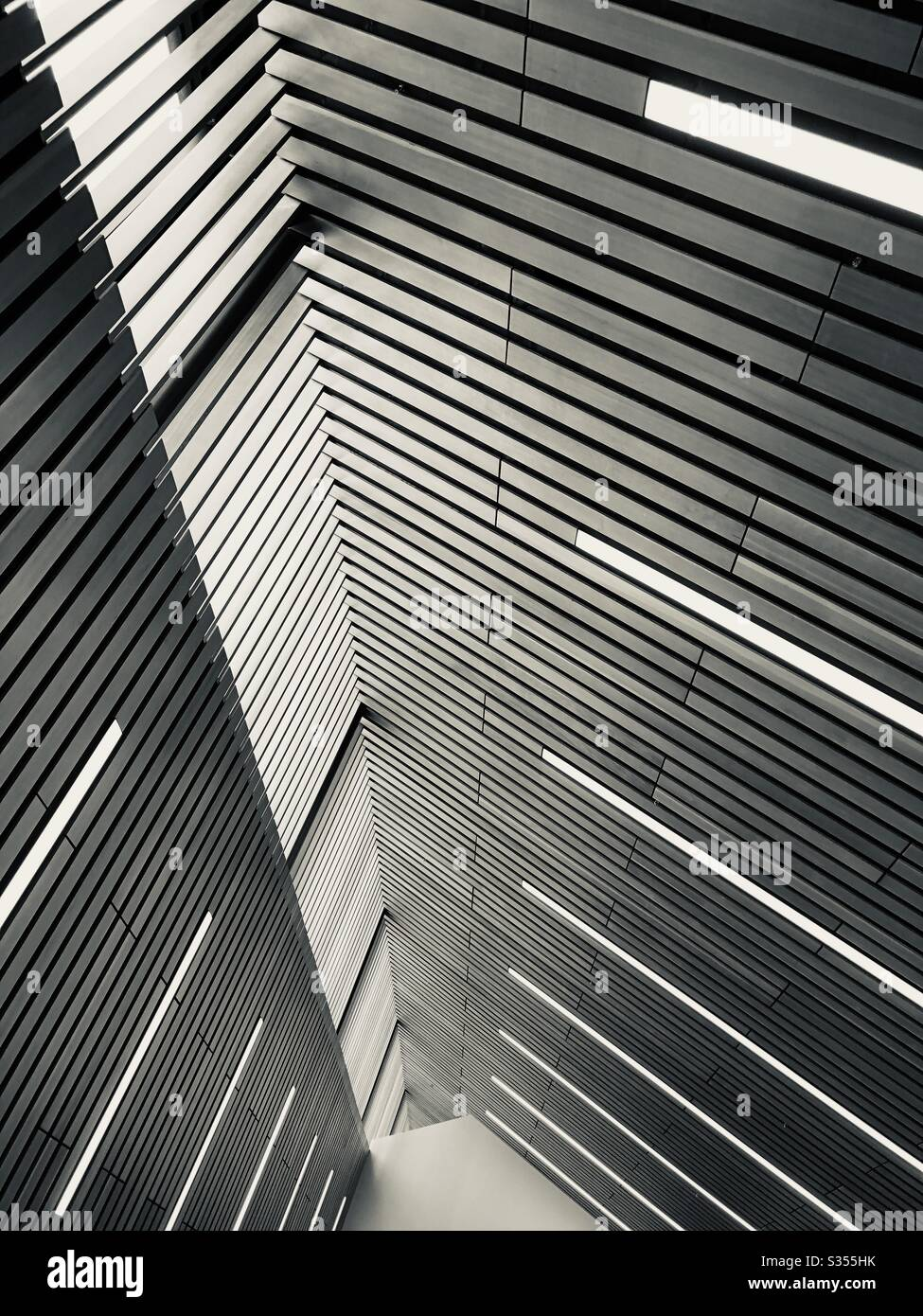 Modern Architectural Ceiling Roof And Skylights Stock Photo Alamy