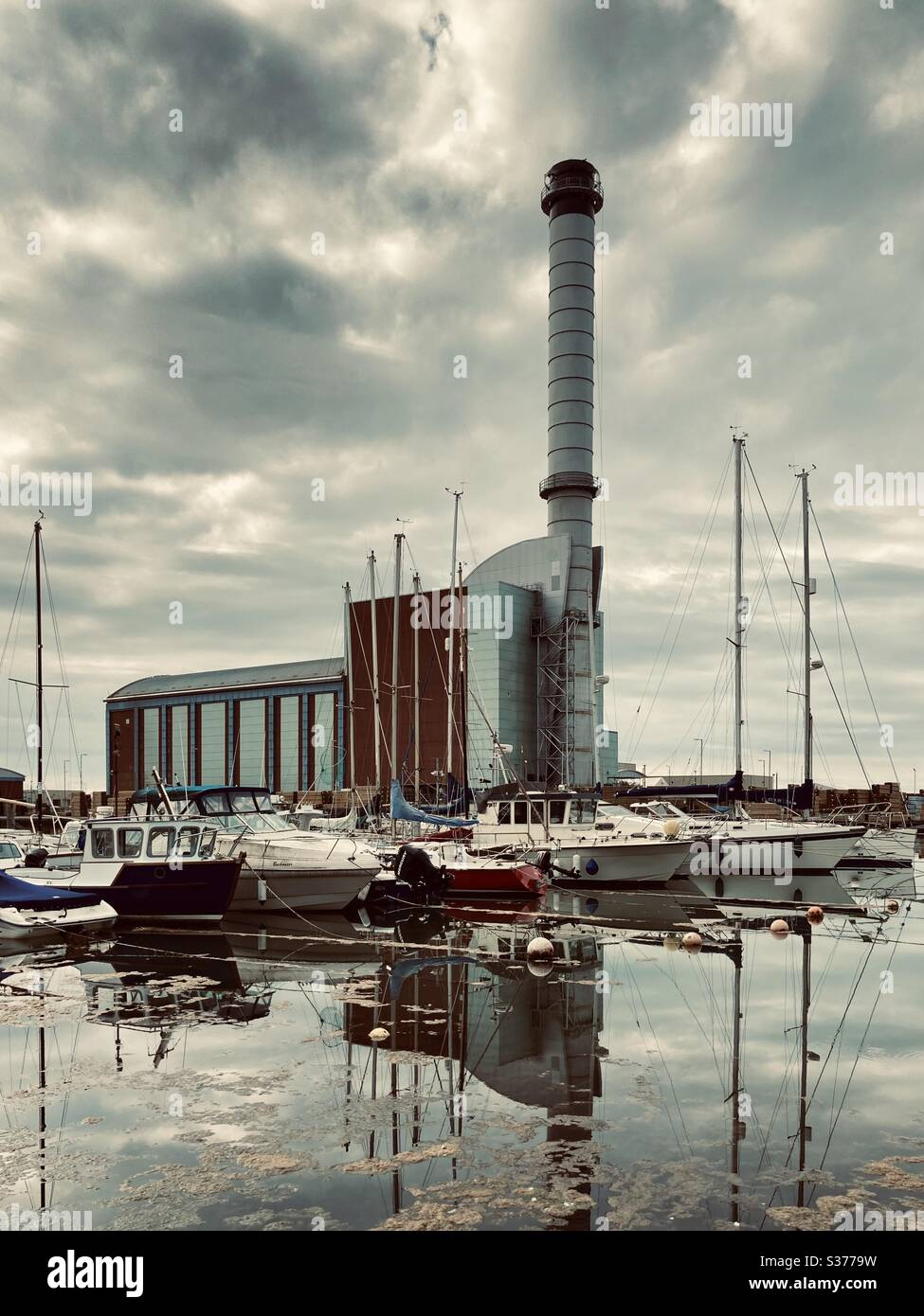 Shoreham Port, West Sussex Stock Photo