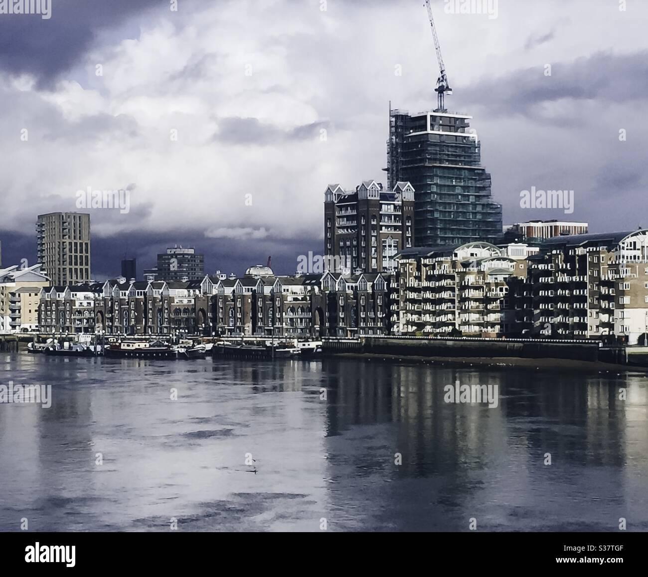 Chelsea Embankment Stock Photo Alamy