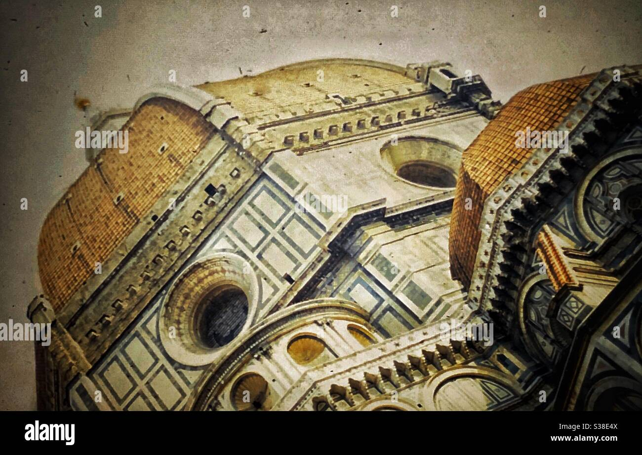 The Duomo in Florence, Italy. Stock Photo