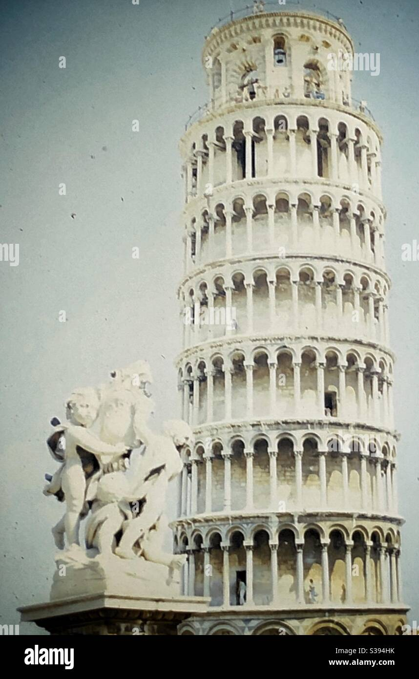 Leaning Tower of Pisa. Stock Photo