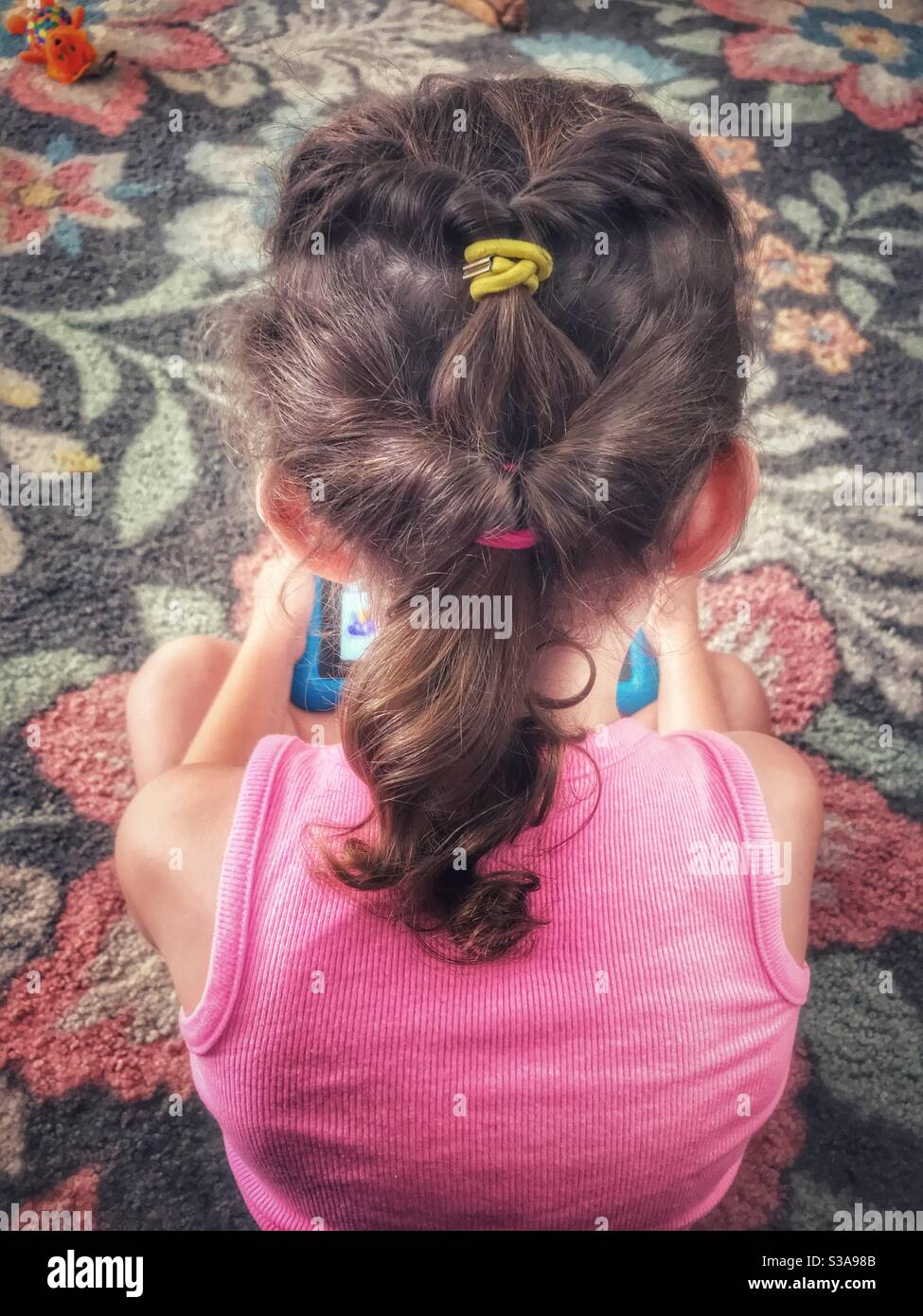 Hairdo Ponytail High Resolution Stock Photography And Images Alamy