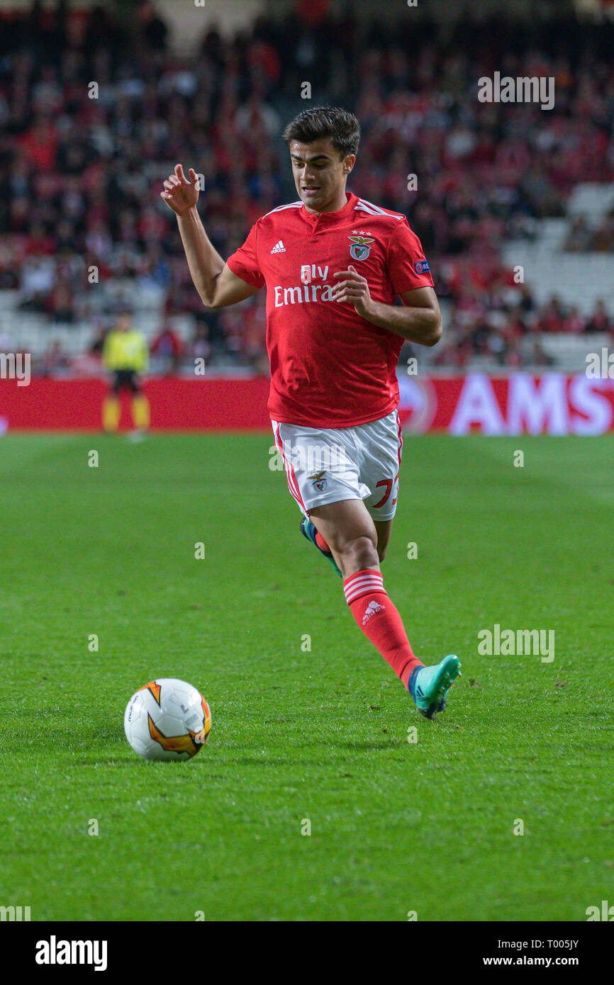 March 14 2019 Lisbon Portugal Benfica S Forward From Portugal Jota 73 In Action During The Game