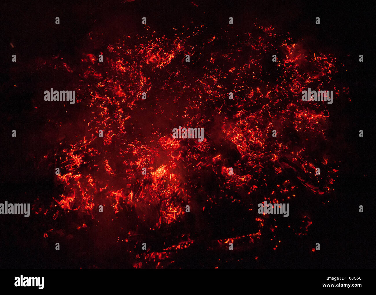Fire and Heat! - Stock Image