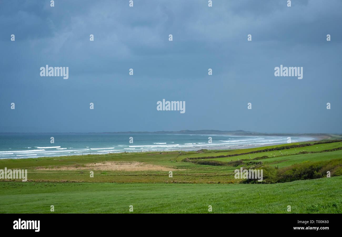 Fermoyle Beach on Dingle Peninsula, Co Kerry, Ireland - Stock Image