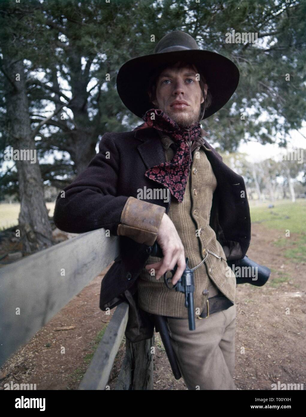 MICK JAGGER NED KELLY 1970 19th Century Australian Outlaw director Tony Richardson Woodfall Film Productions / United Artists - Stock Image