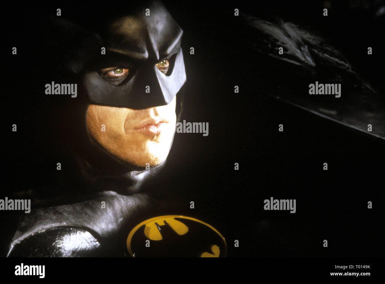 Michael Keaton Batman 1989 Stock Photo Alamy