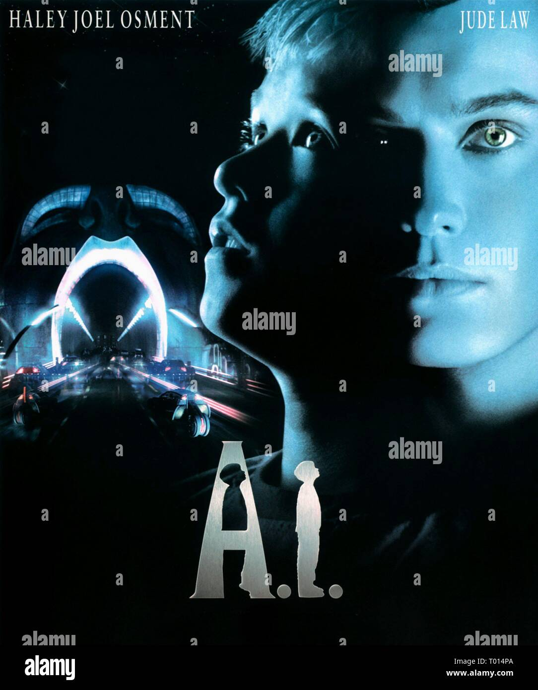 Film Poster A I Artificial Intelligence 2001 Stock Photo Alamy