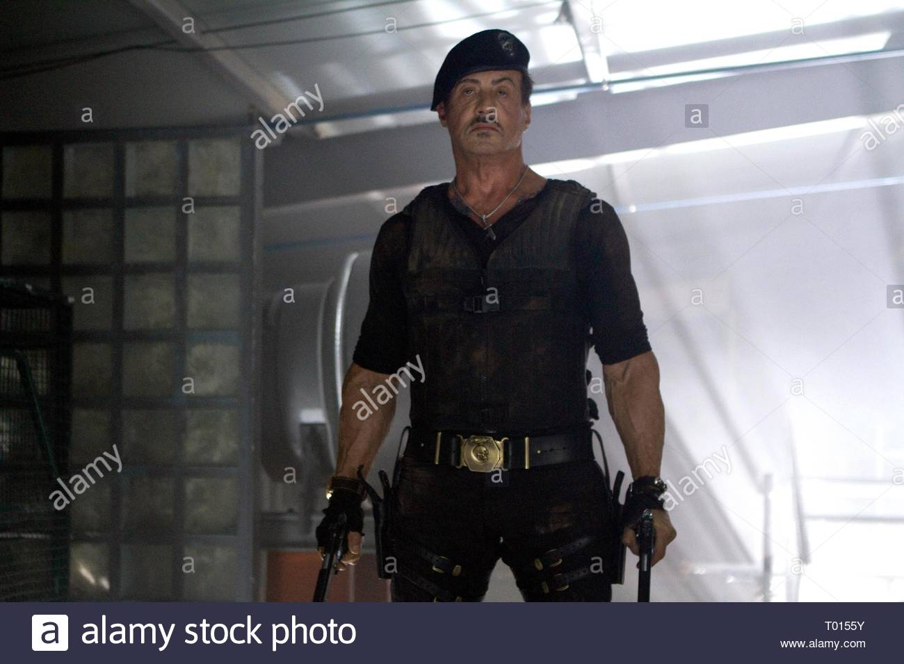SYLVESTER STALLONE, THE EXPENDABLES 2, 2012 Stock Photo