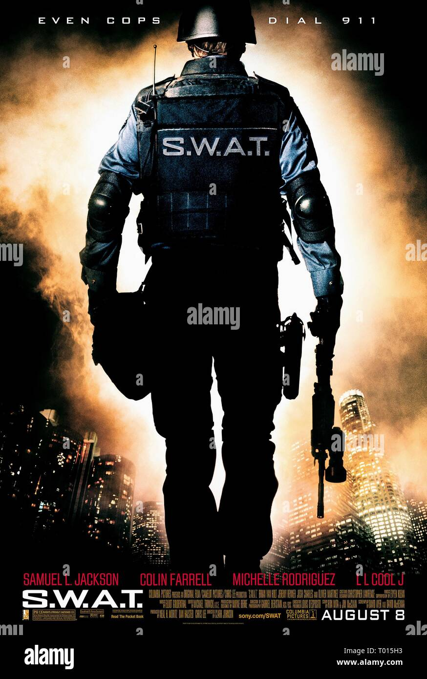 FILM POSTER, S.W.A.T., 2003 - Stock Image