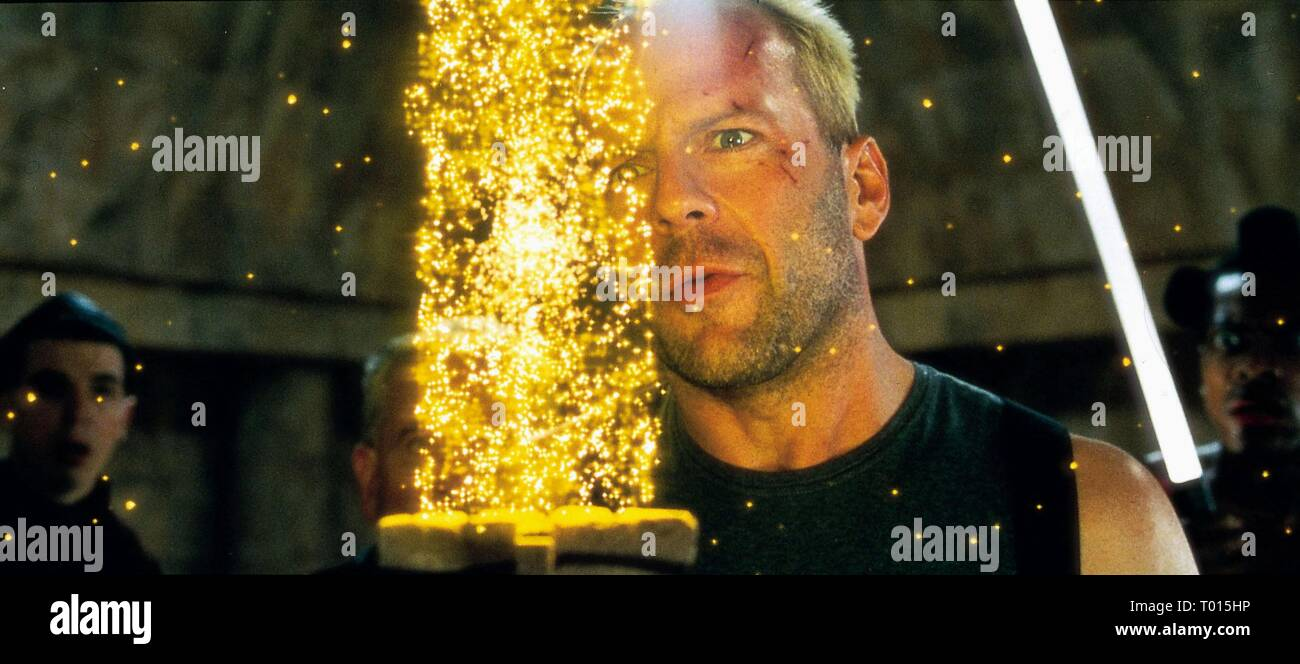 BRUCE WILLIS, THE FIFTH ELEMENT, 1997 - Stock Image