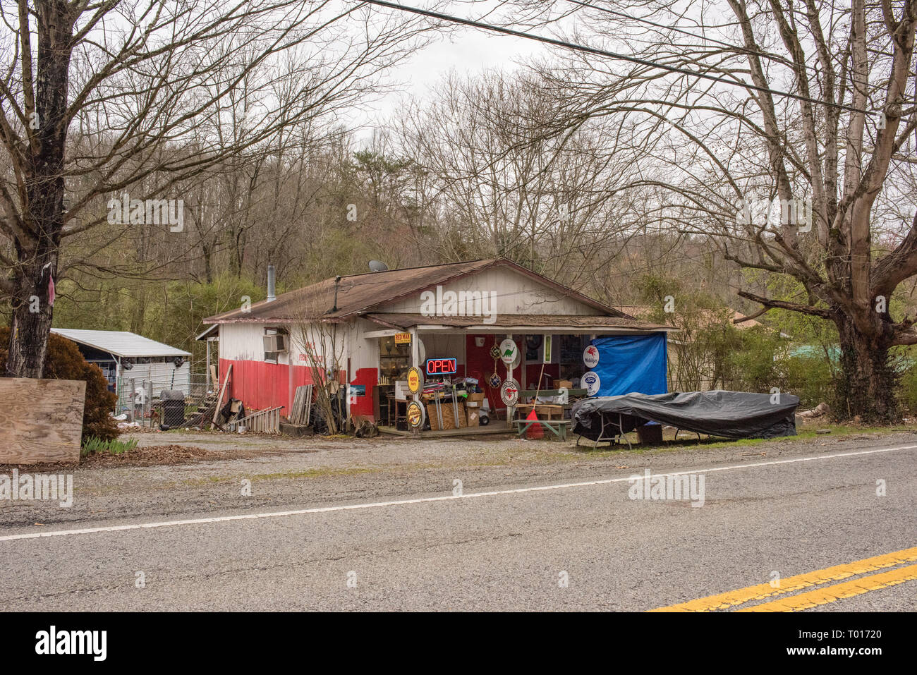 Oliver Springs High Resolution Stock Photography And Images Alamy