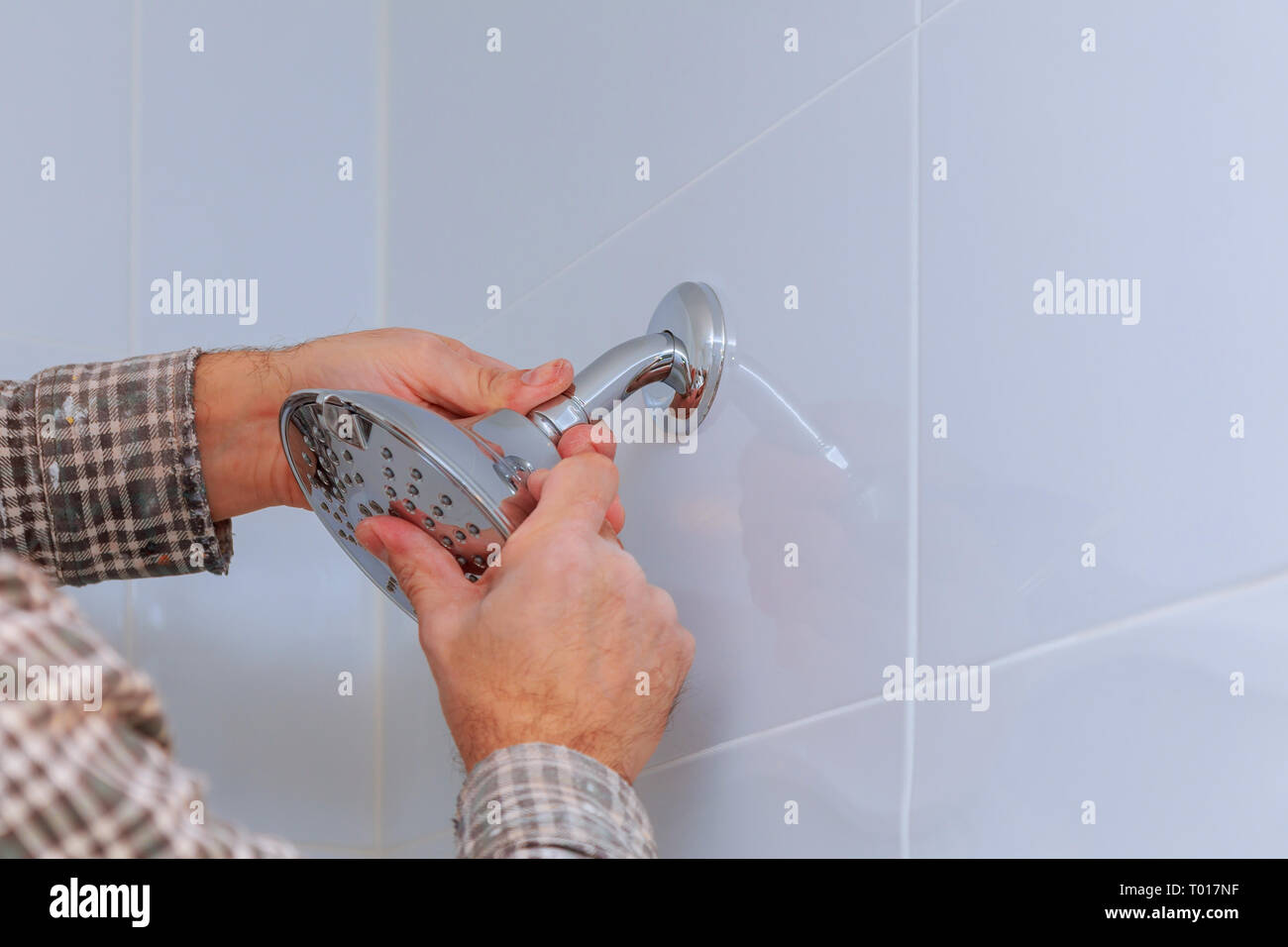 Hand Shower Holder Stock Photos Amp Hand Shower Holder Stock