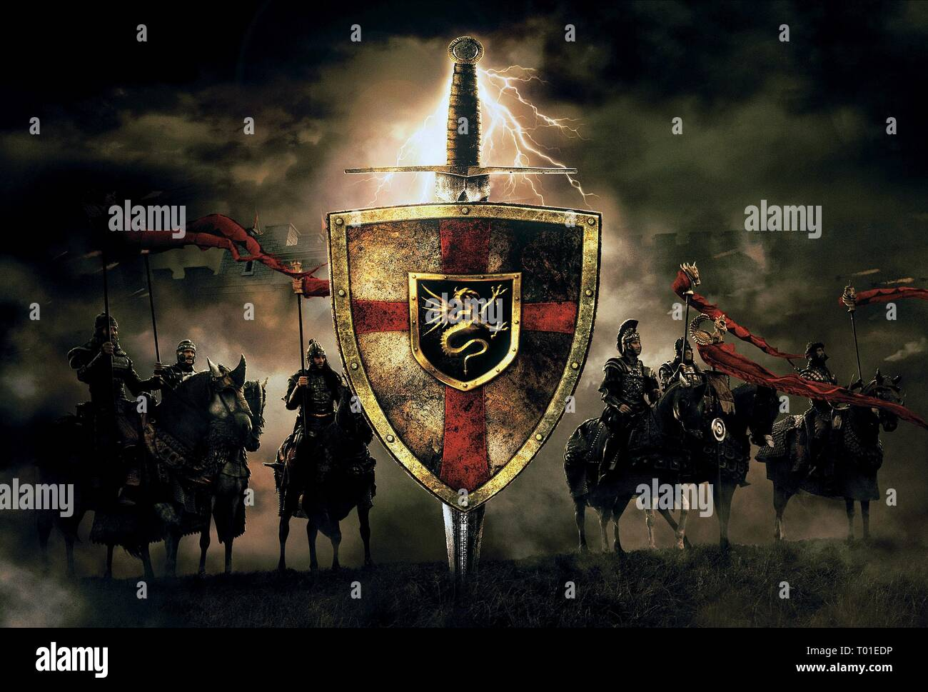 Round Table La Mesa.Knights Of The Round Table King Arthur 2004 Stock Photo 240978466
