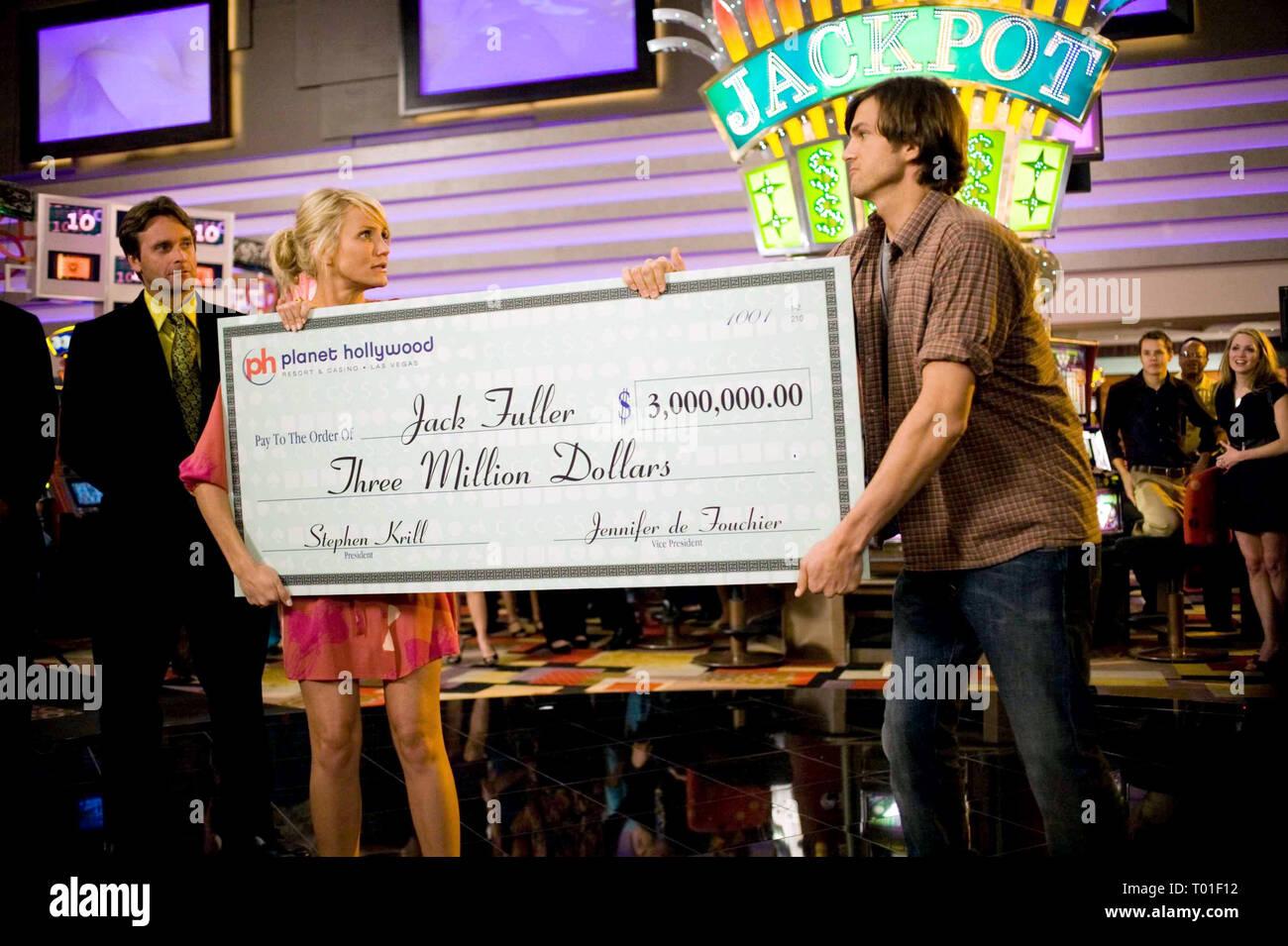 Cameron Diaz Ashton Kutcher What Happens In Vegas 2008 Stock Photo Alamy