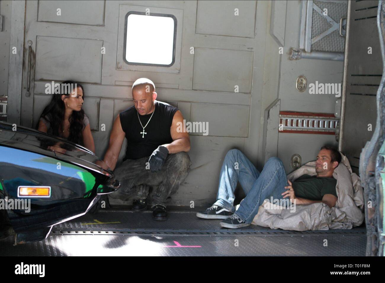 JORDANA BREWSTER, VIN DIESEL, PAUL WALKER, FAST FIVE, 2011 Stock Photo