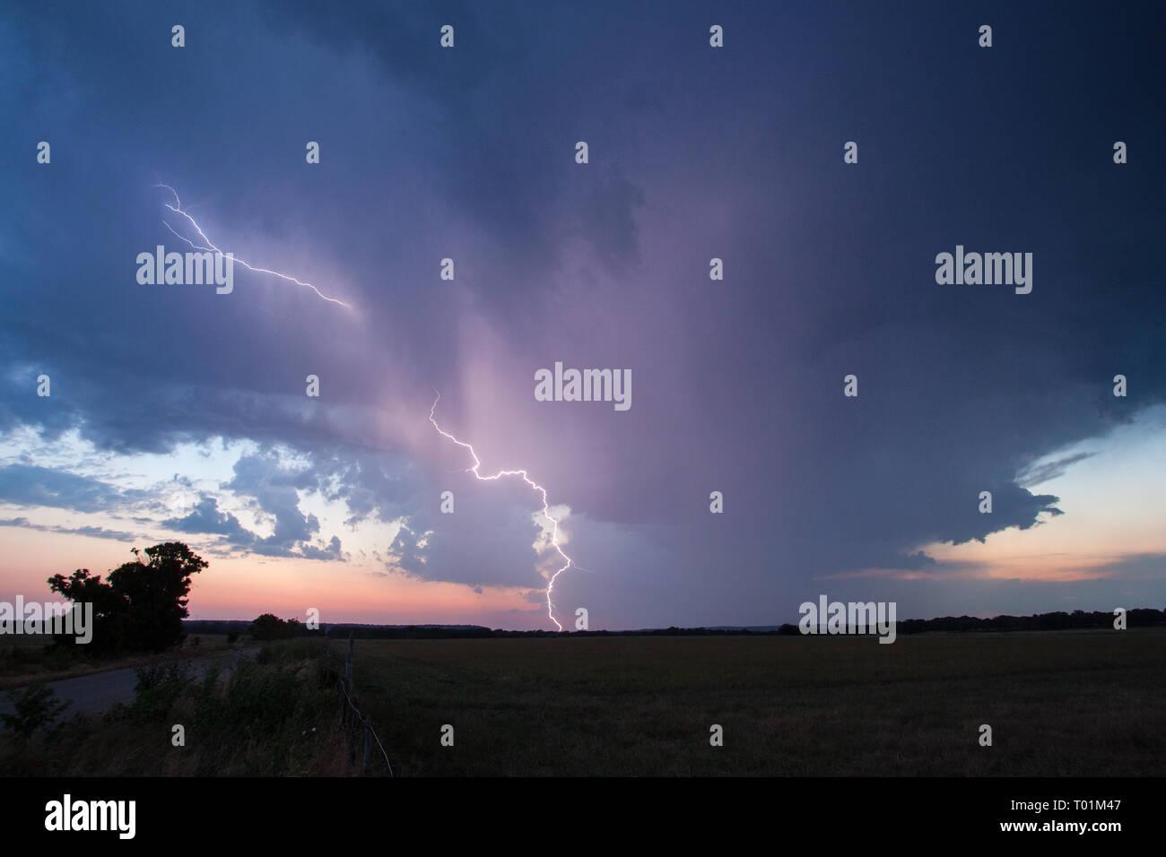 , Gillespie County, Texas, USA - Stock Image
