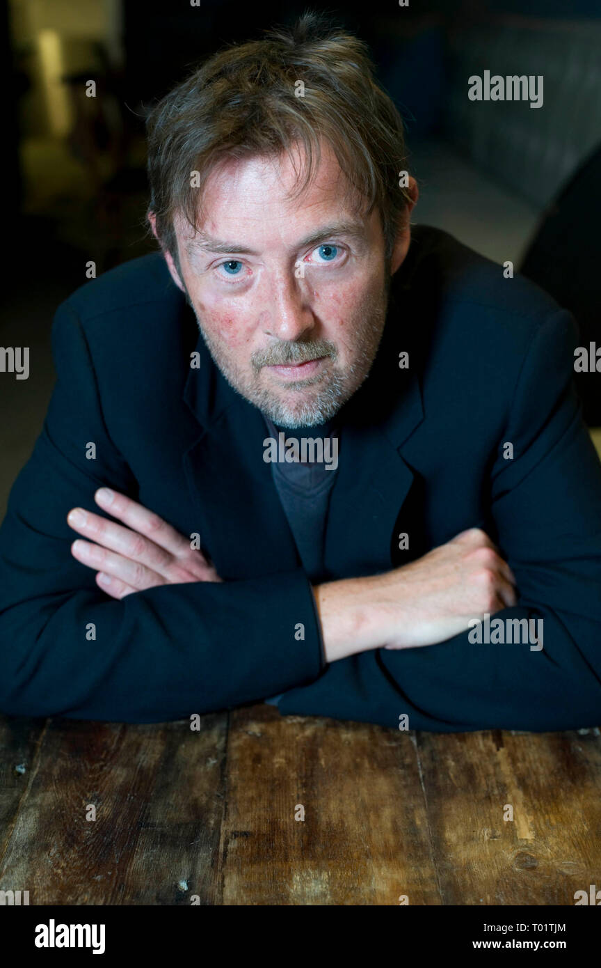 UK writer and former Booker Prize Winner DBC Pierre pictured at Bookslam event @ The Tabernacle , west London . His new book 'Lights Out in Wonderland'    30 09 2010. - Stock Image