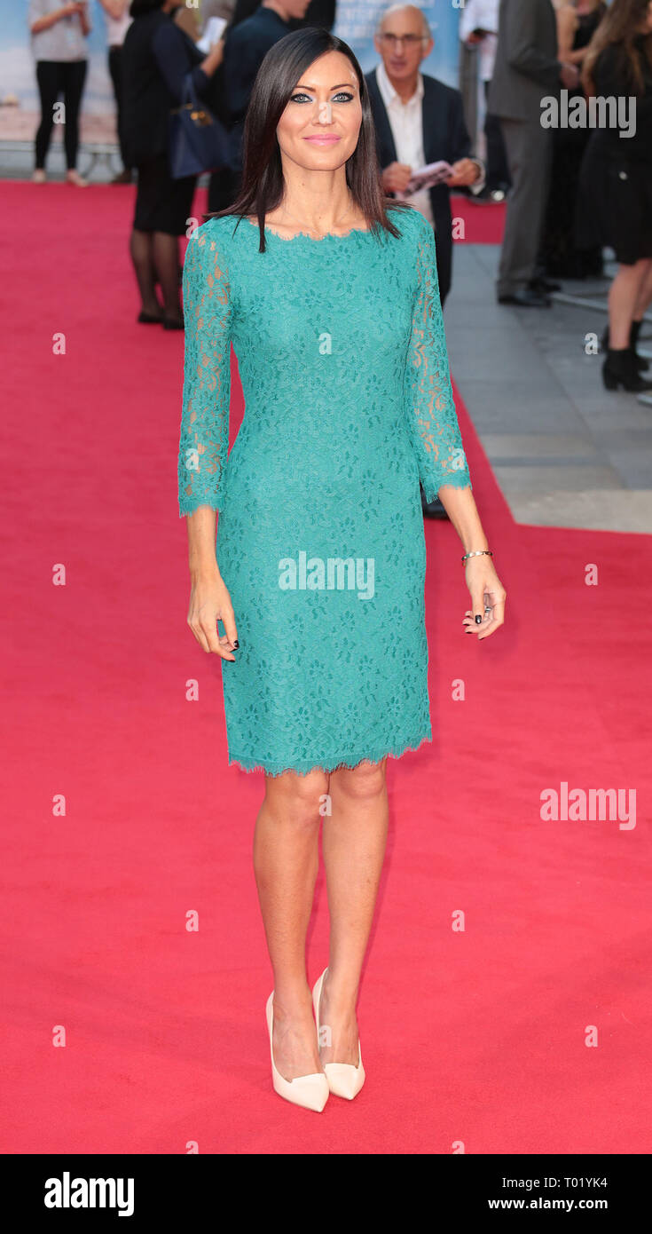 Sep 22, 2014 - London, England, UK - What We Did On Our Holiday World Premiere, Odeon West End, Leicester Square Photo Shows: Linzi Stoppard - Stock Image