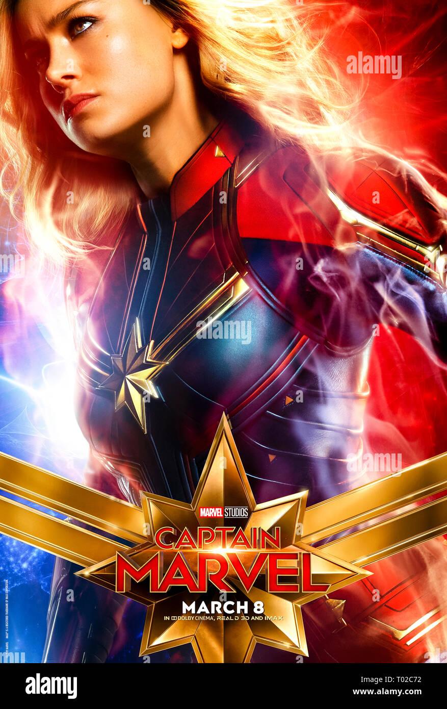 Captain Marvel 2019 Brie Larson Anna Boden Japanese Pamphlet Program Brochure