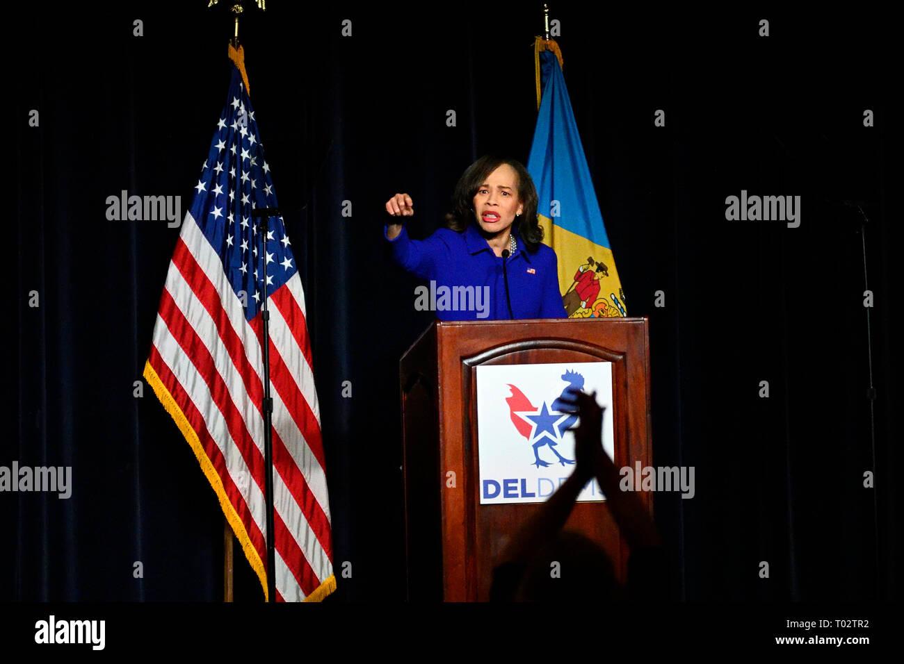 Delaware, USA  16th March 2019  Congresswoman Lisa Blunt