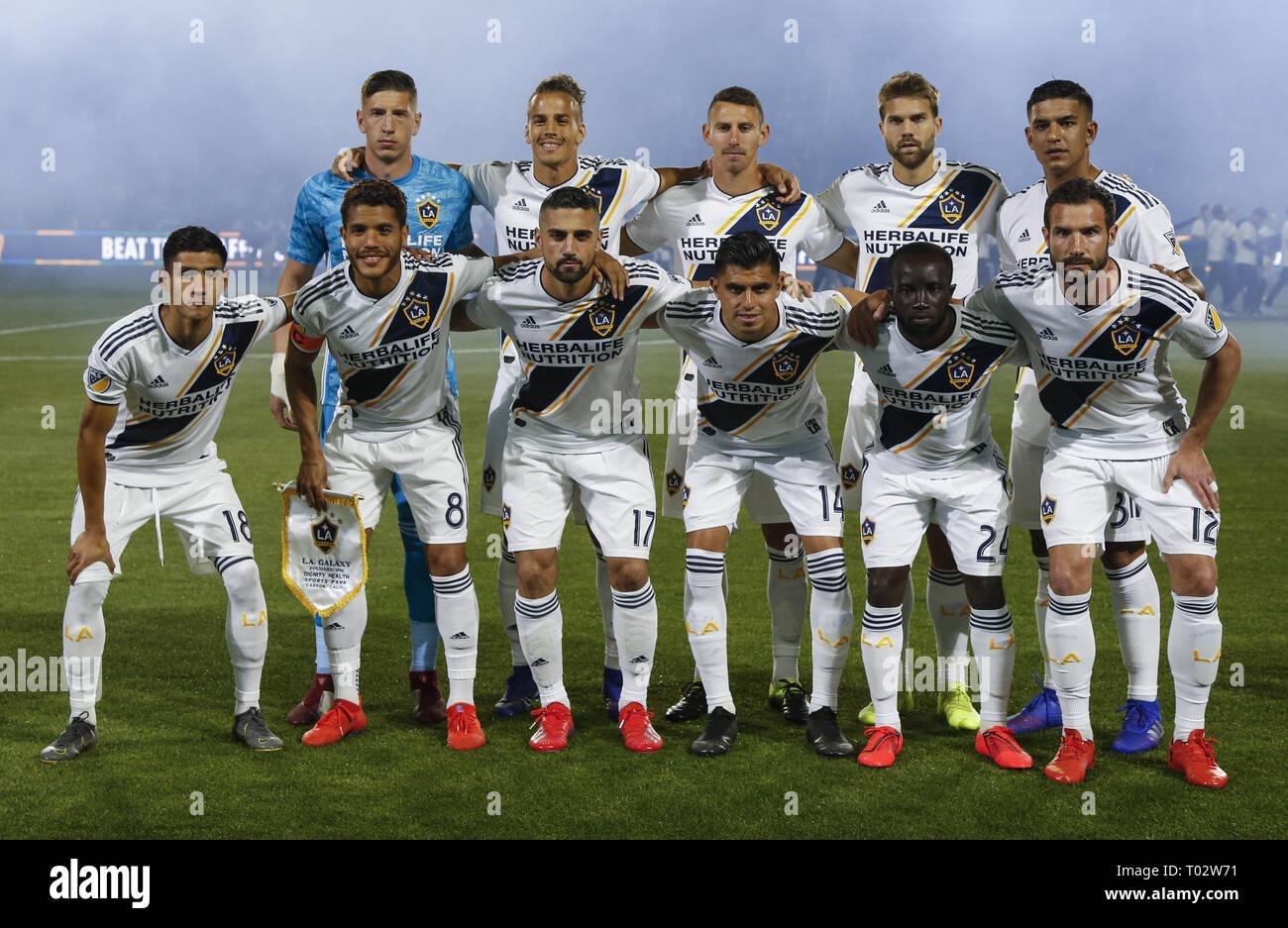 Los Angeles, California, USA  16th Mar, 2019  LA Galaxy team