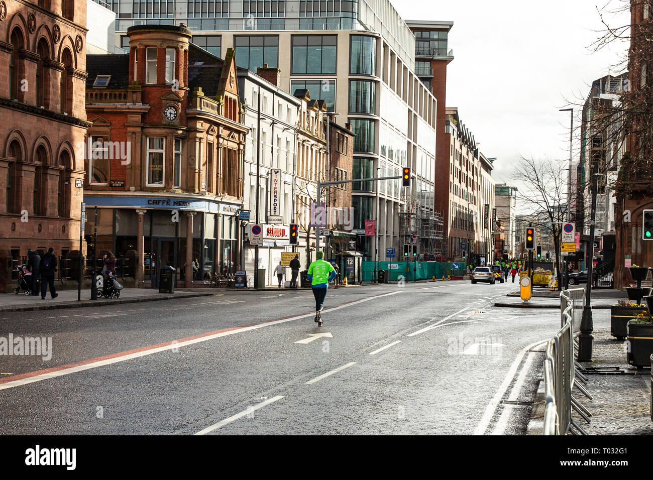 Belfast Northern Ireland Uk 17th March 2019 Almost 2000