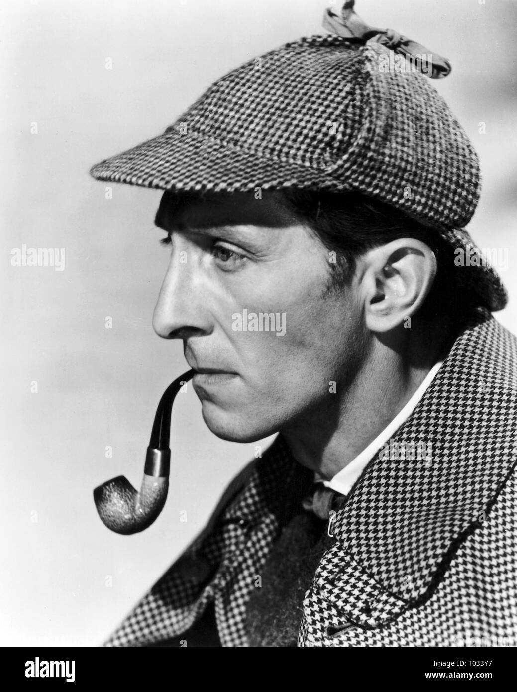 THE HOUND OF THE BASKERVILLES, PETER CUSHING, 1959 - Stock Image
