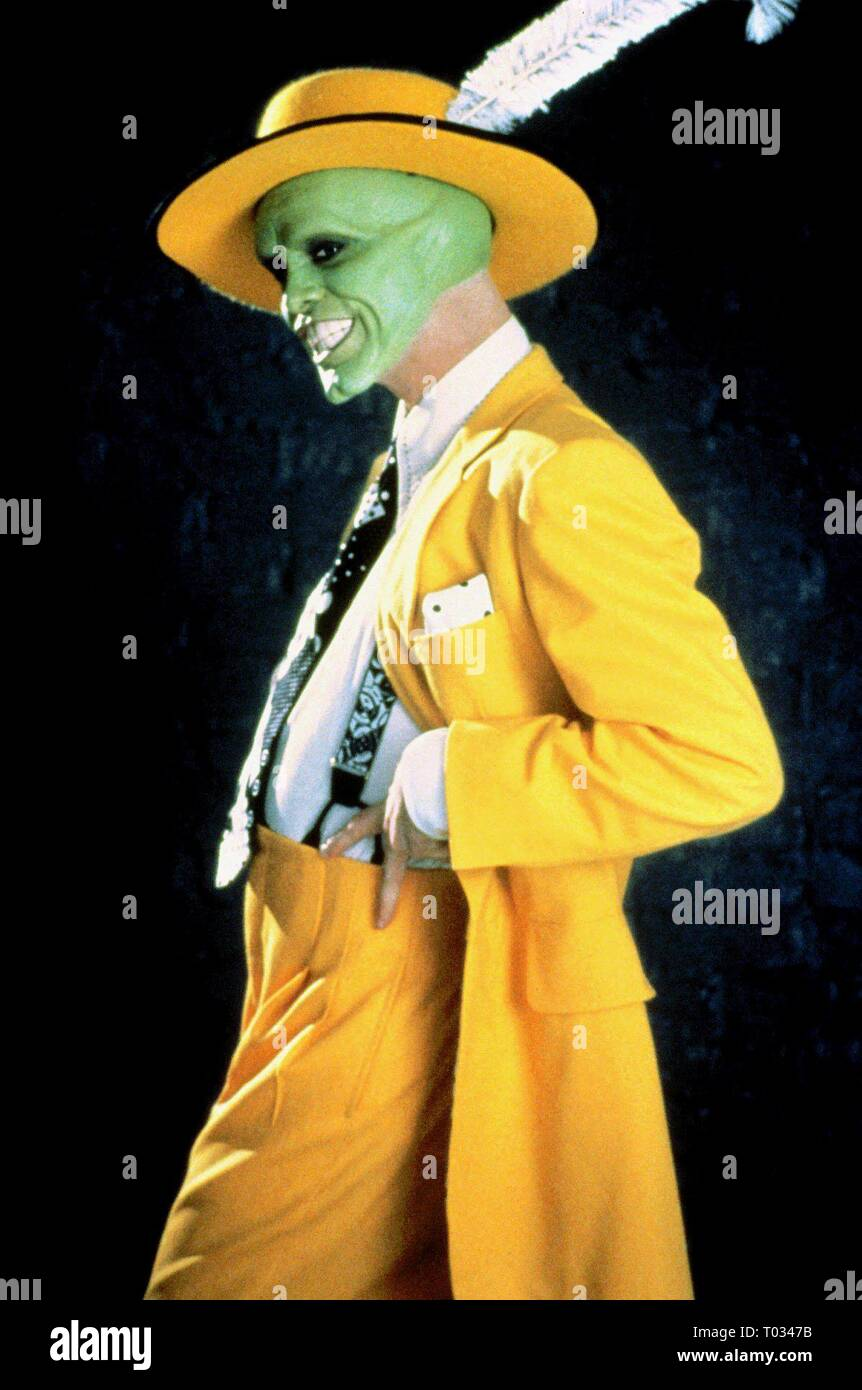 Jim Carrey The Mask 1994 Stock Photo Alamy