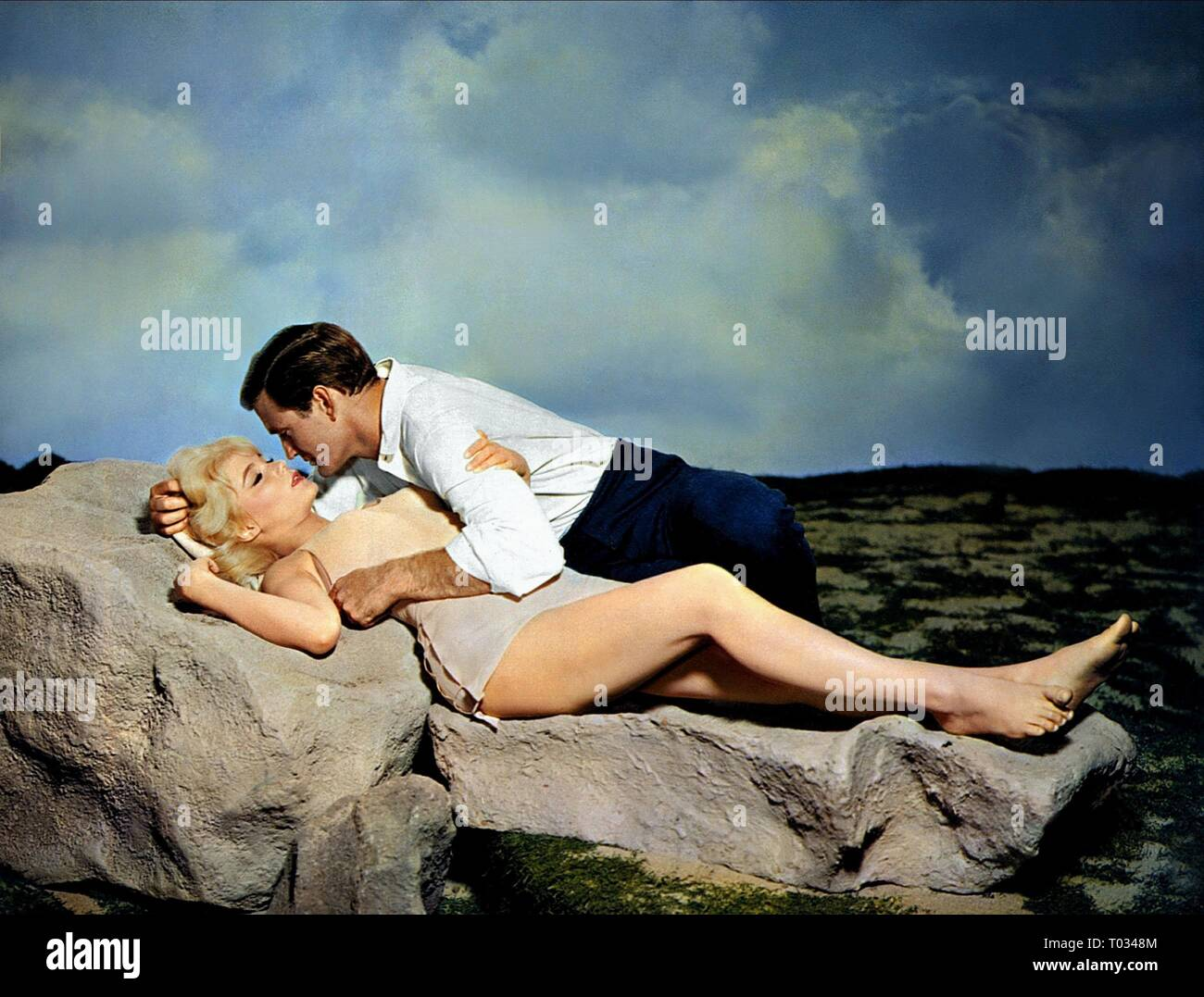 THE TIME MACHINE, ROD TAYLOR , YVETTE MIMIEUX, 1960 - Stock Image